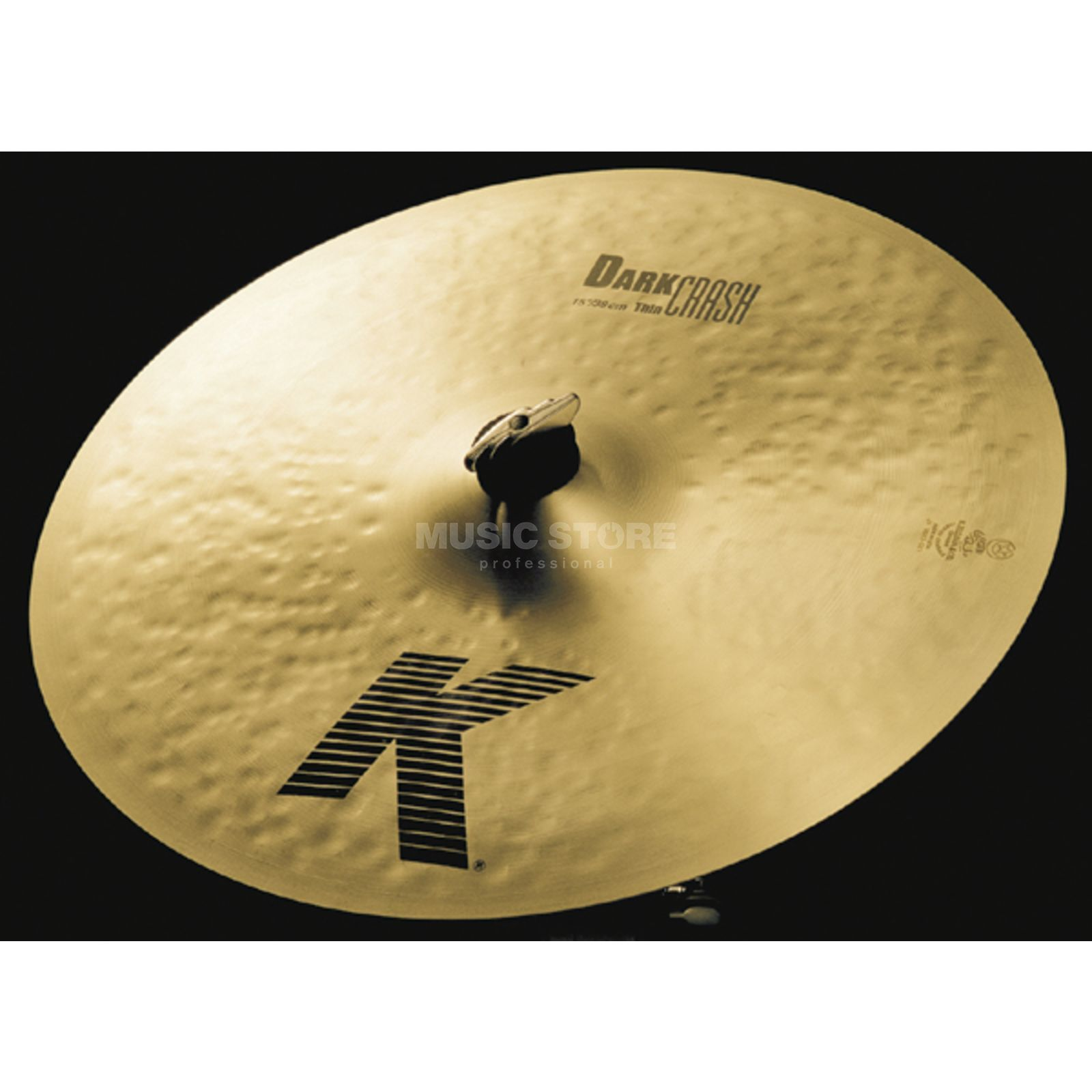 "Zildjian K' Dark Crash Thin 15"", Traditional Finish Produktbild"