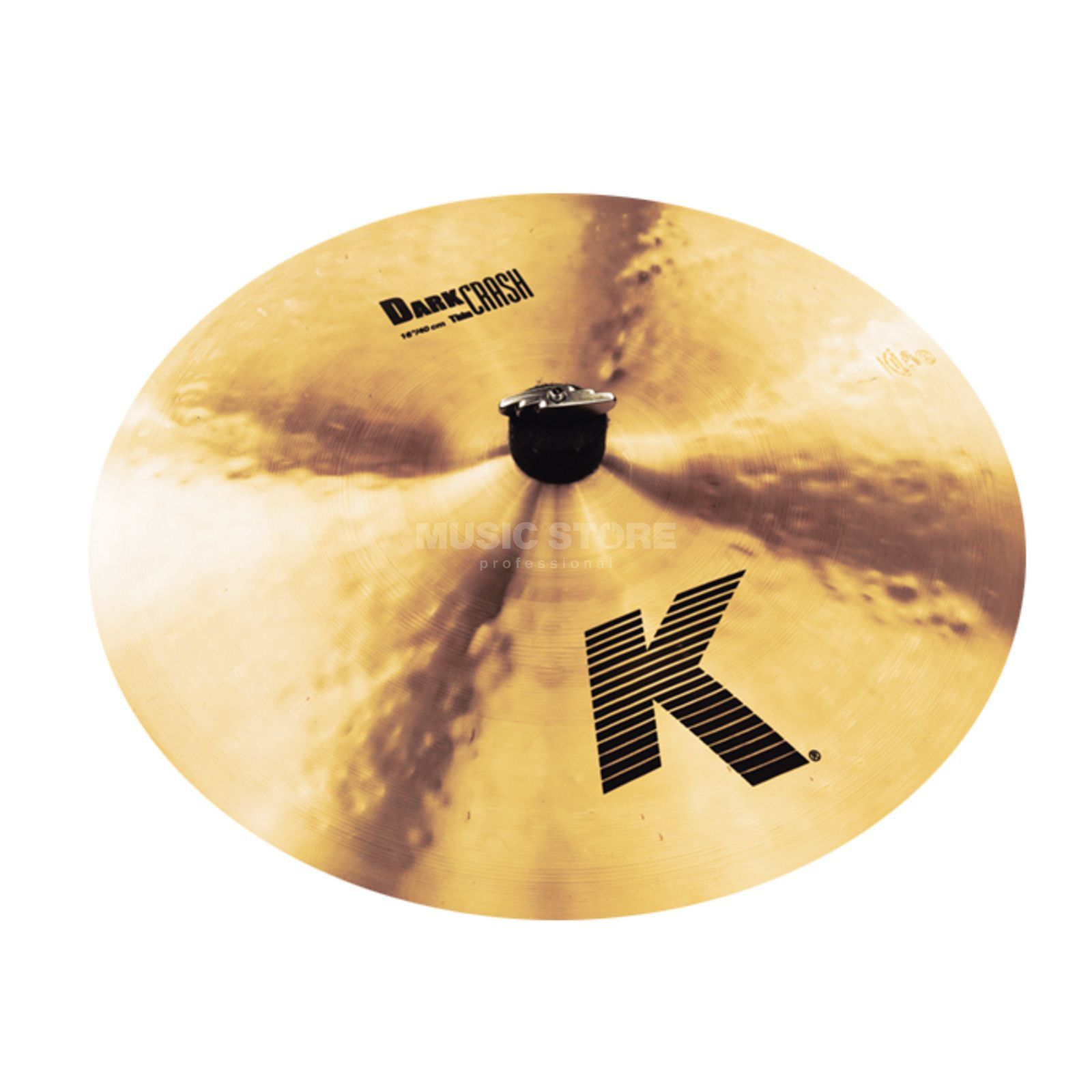 "Zildjian K' Dark Crash Thin 16"", Traditional Finish Product Image"