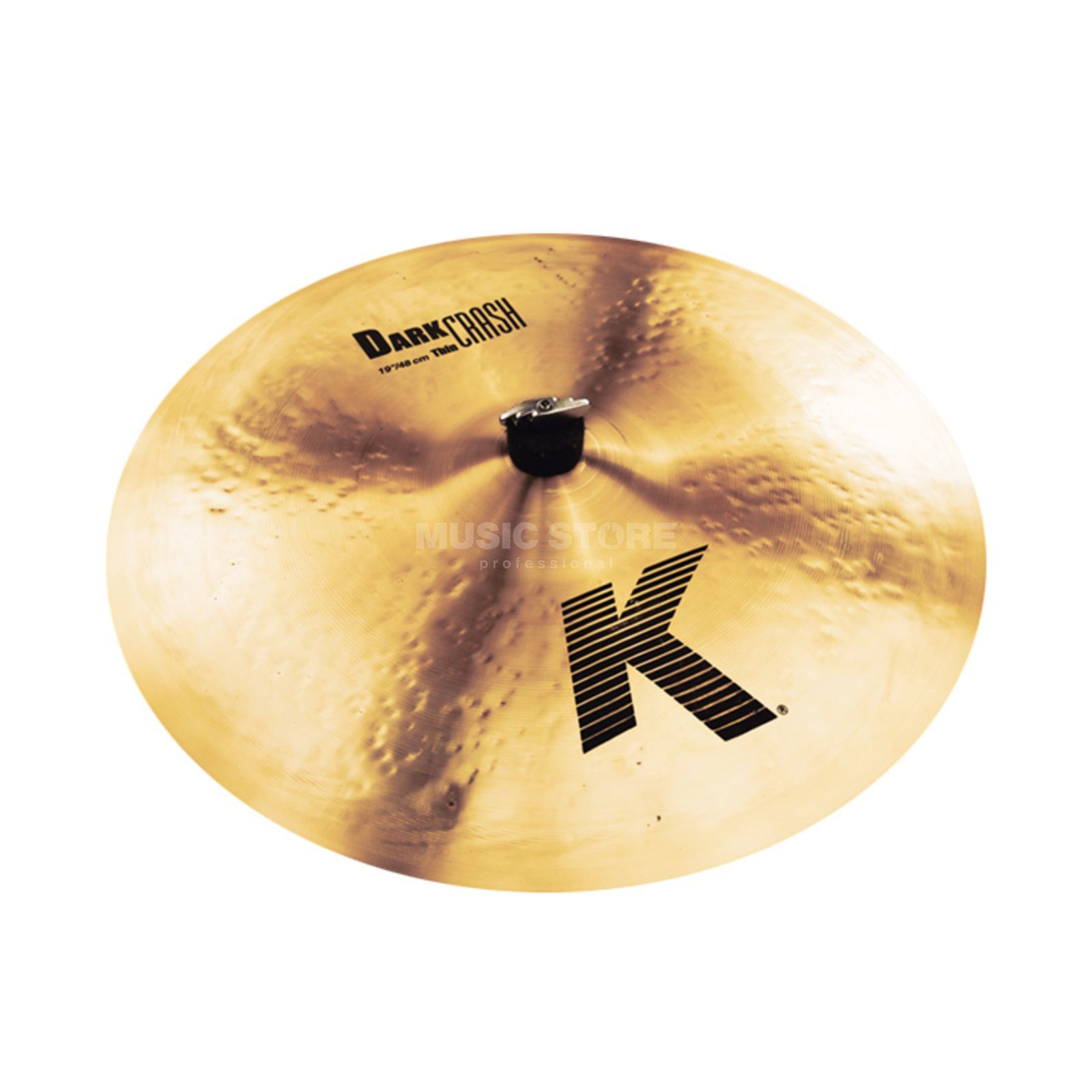 "Zildjian K' Dark Crash Thin 19"", Traditional Finish Produktbillede"