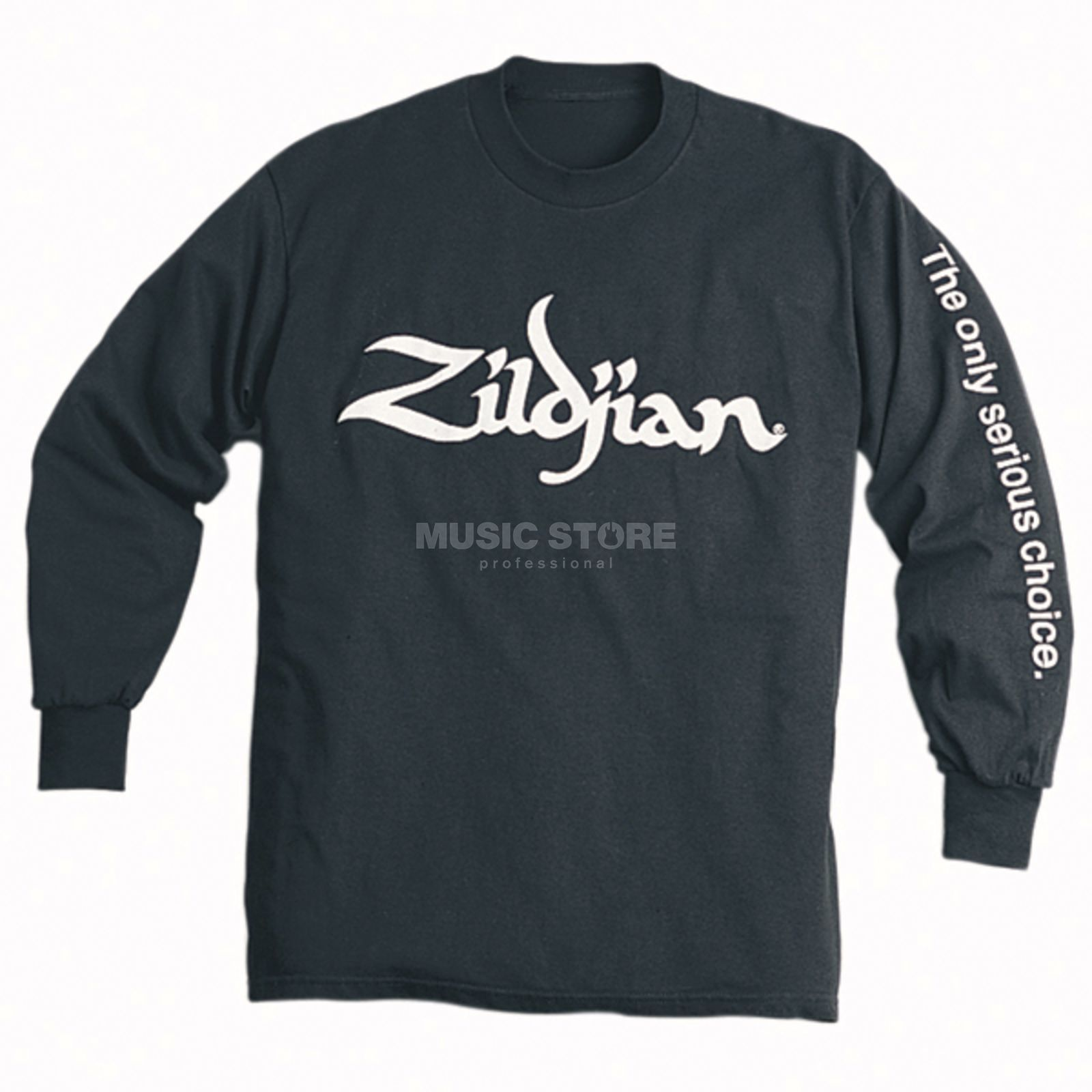 Zildjian Long Sleeve Shirt Black Large Produktbillede