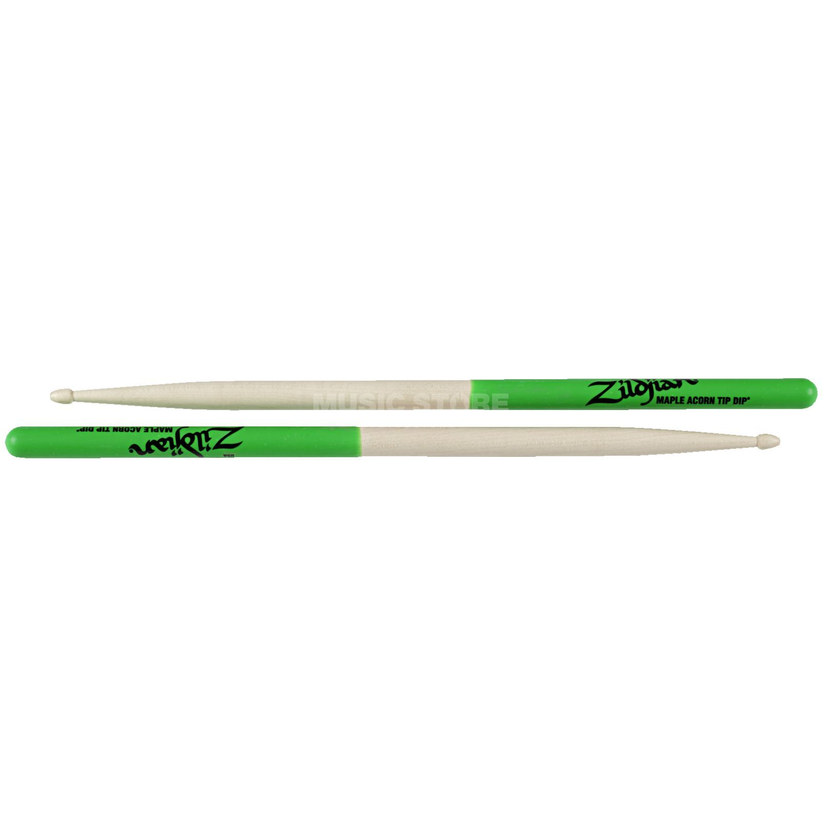 Zildjian Maple Sticks Green Dip, Acorn Produktbillede