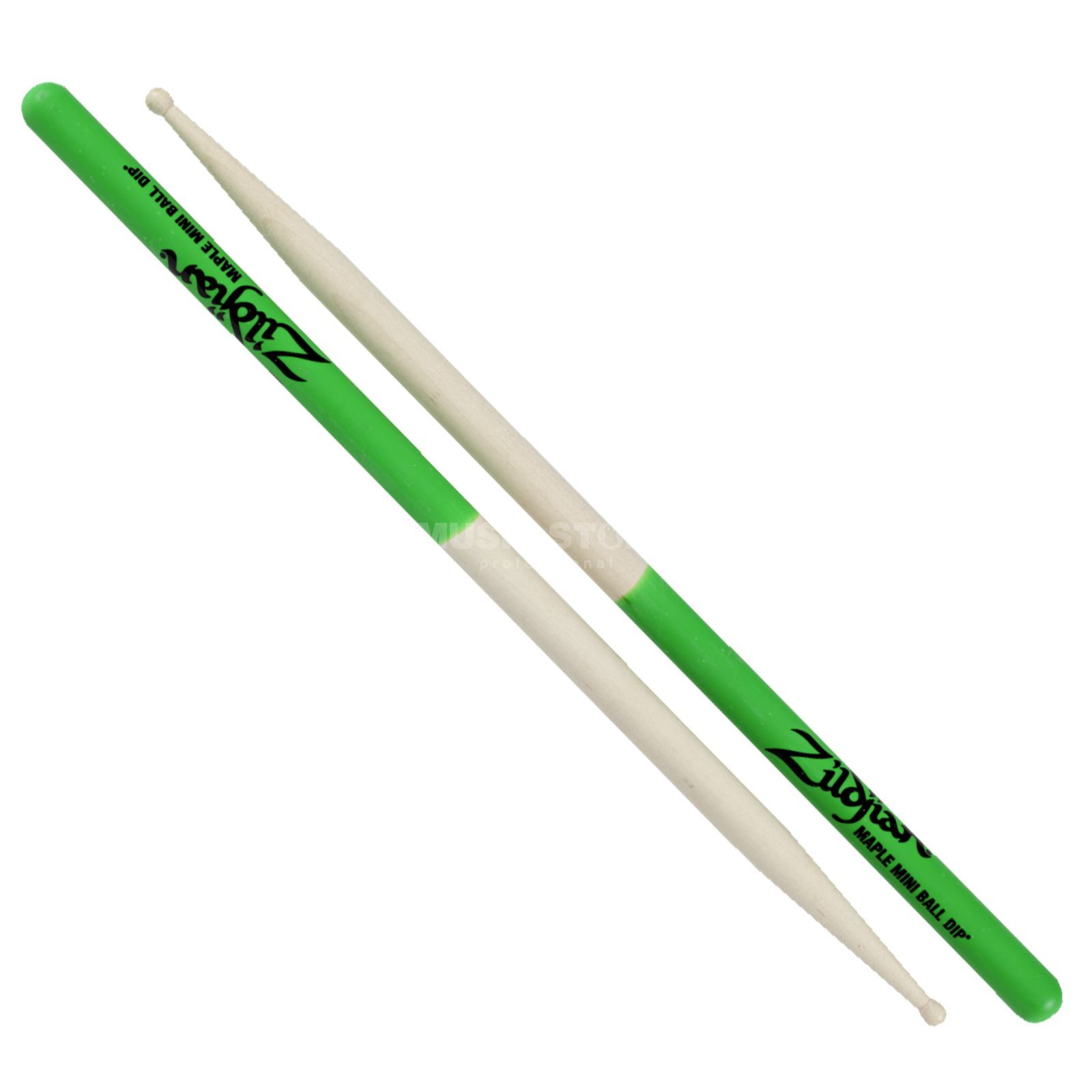 Zildjian Maple Sticks Green Dip, Miniball Produktbillede