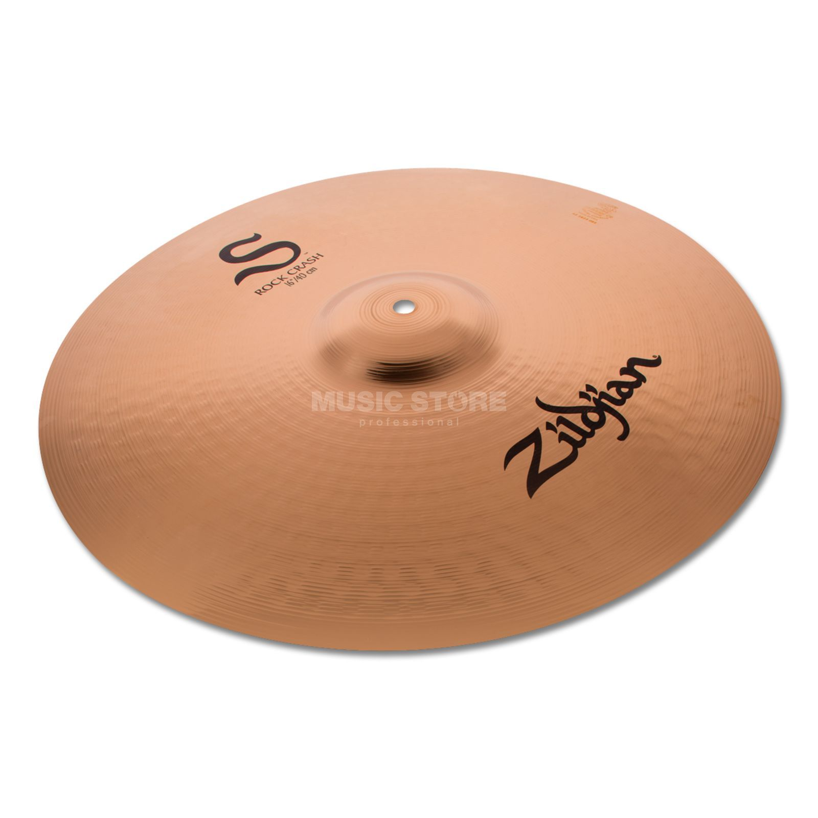 "Zildjian S-Series Rock Crash 16"" Brilliant Produktbillede"