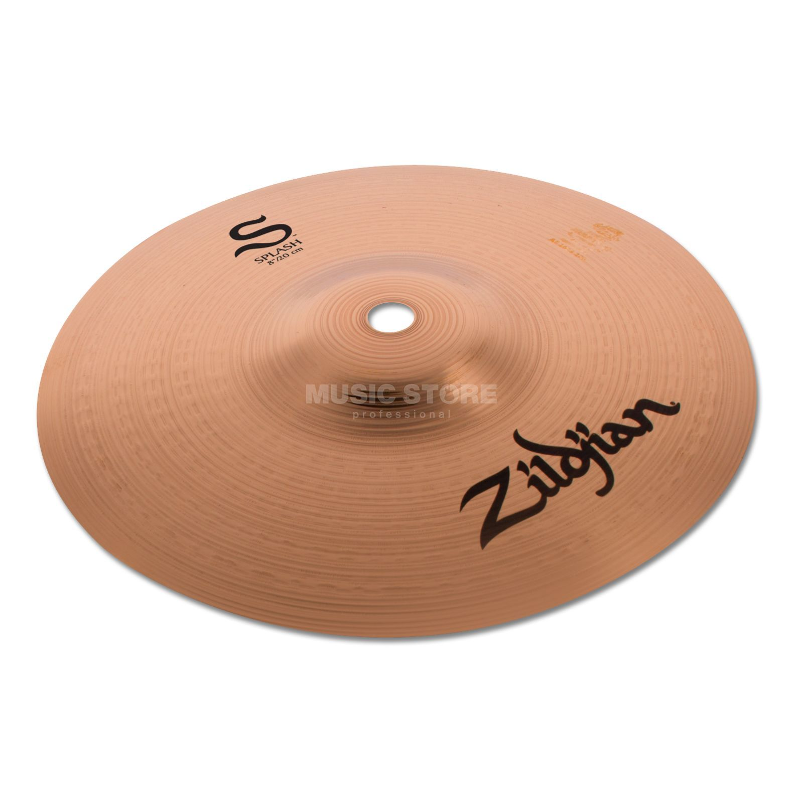 "Zildjian S-Series Splash 8"", Paper Thin, Brilliant Produktbillede"