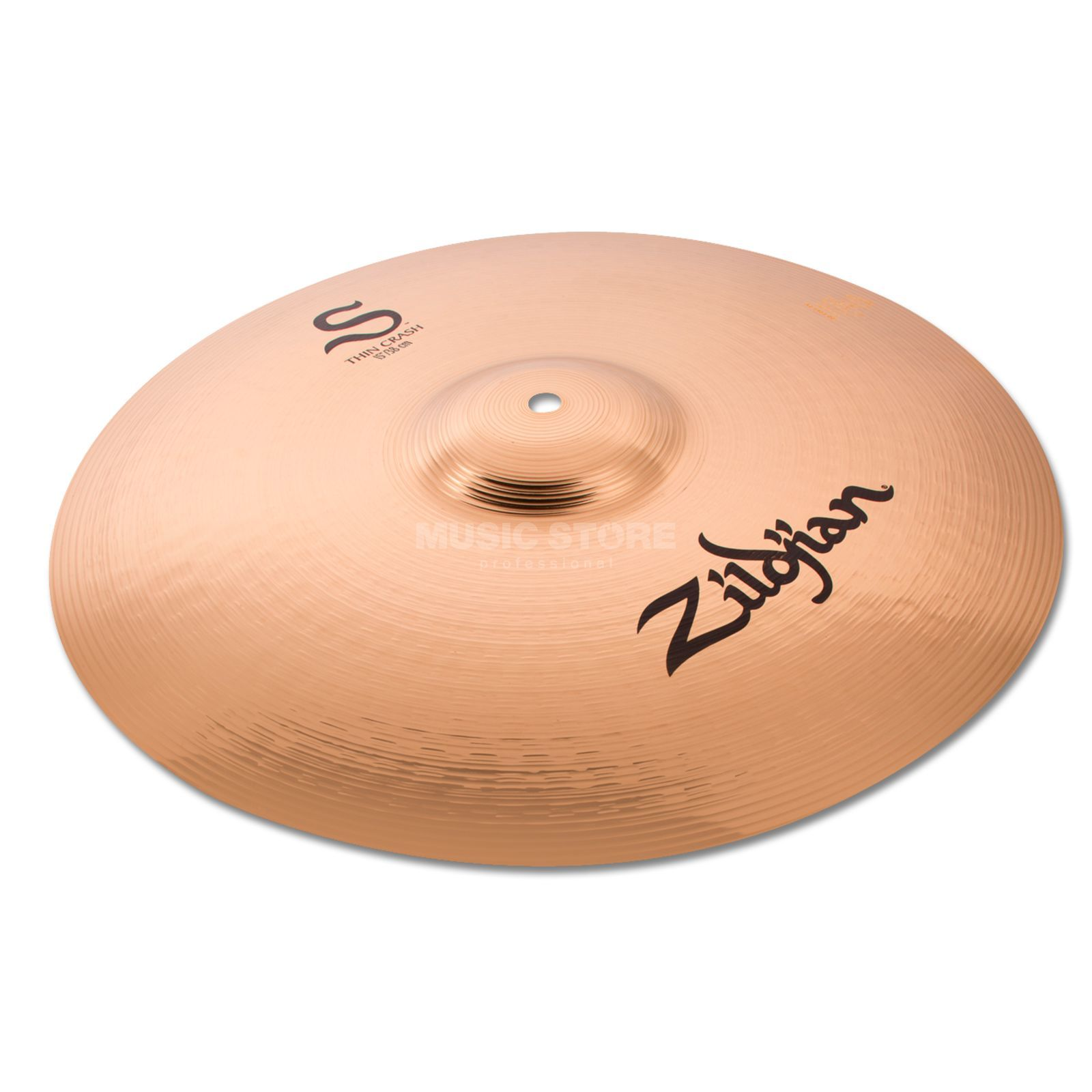 "Zildjian S-Series Thin Crash 15"" Brilliant Produktbillede"