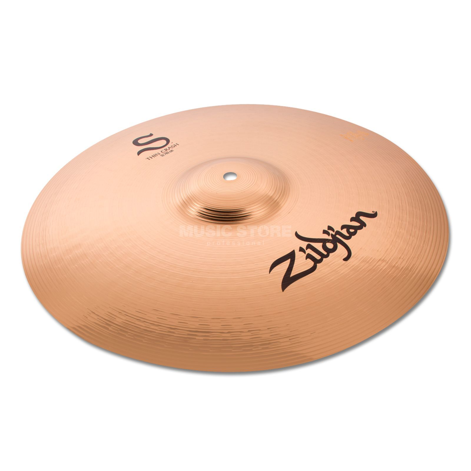 "Zildjian S-Series Thin Crash 16"" Brilliant Produktbillede"