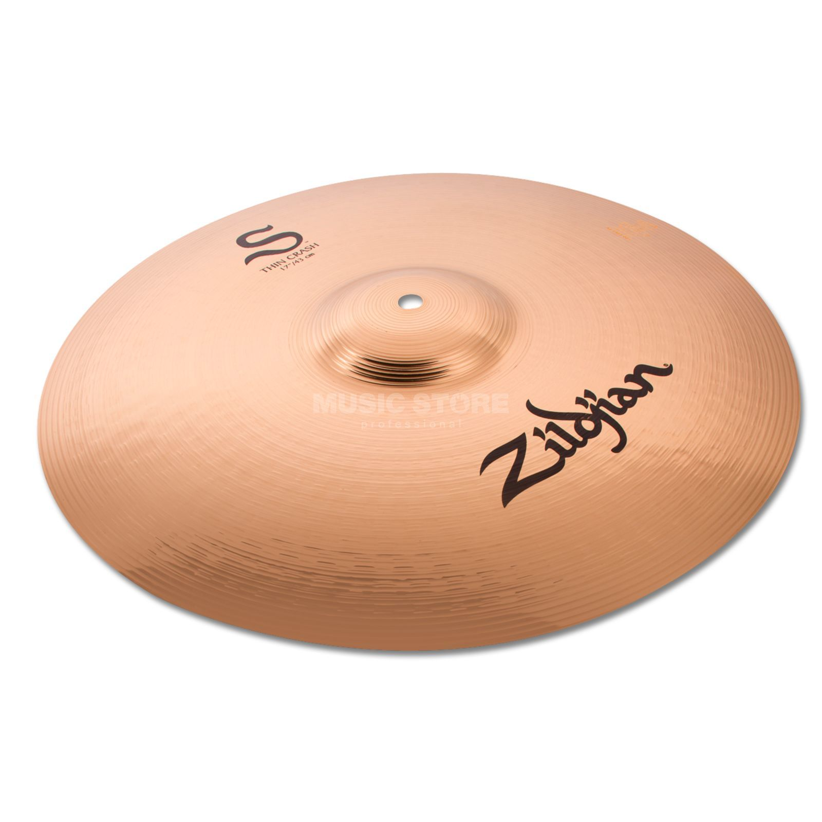 "Zildjian S-Series Thin Crash 17"" Brilliant Produktbillede"