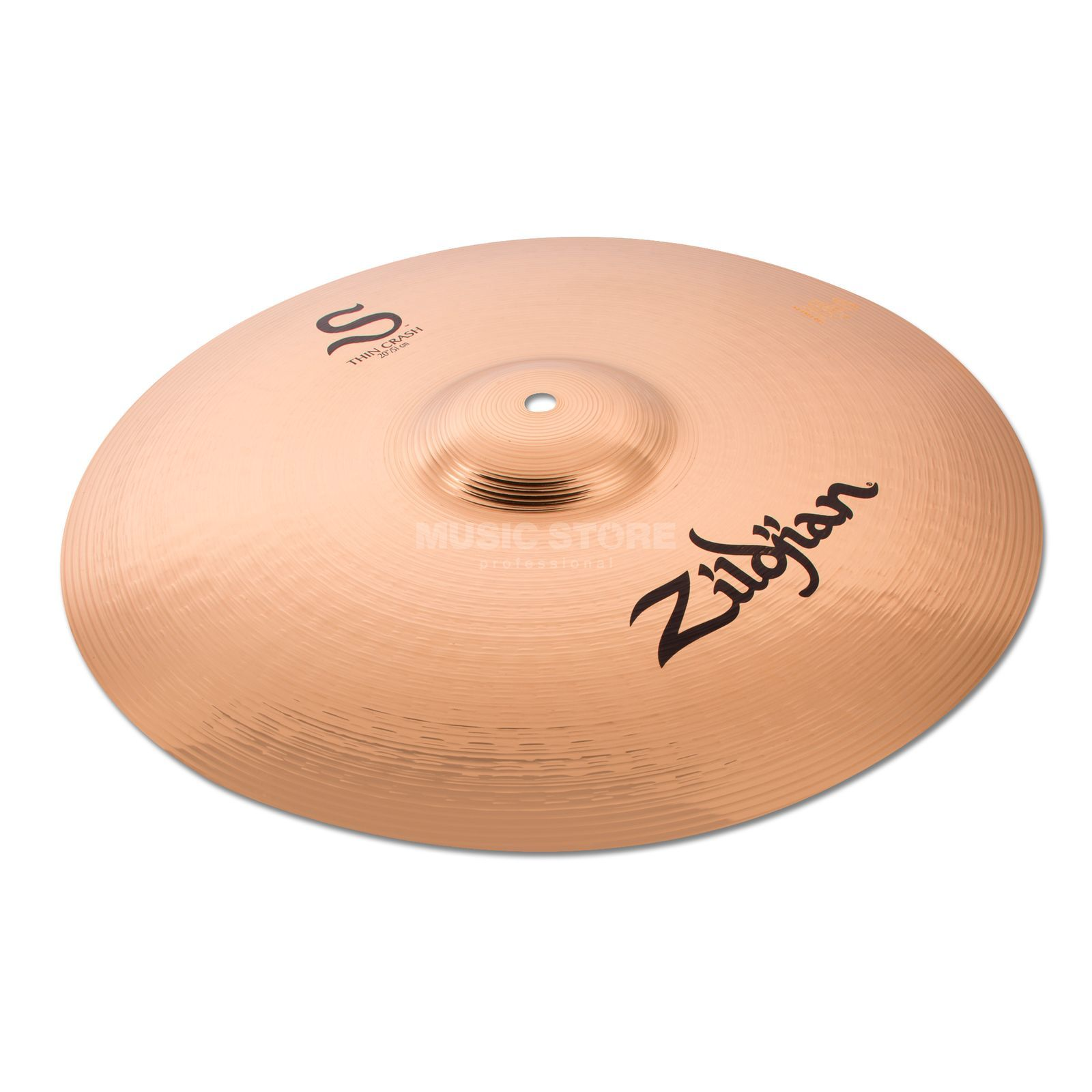 "Zildjian S-Series Thin Crash 20"" Brilliant Produktbillede"
