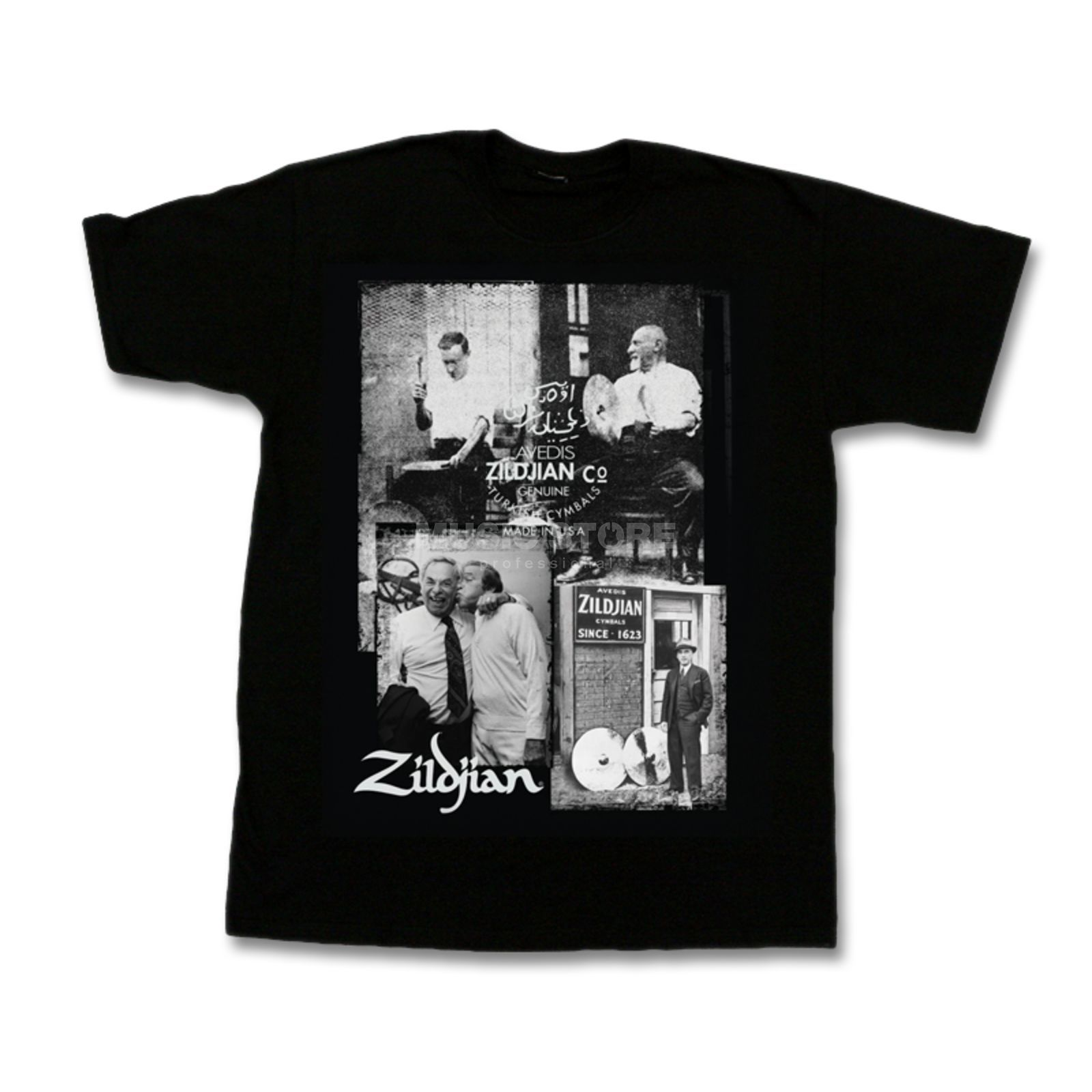 Zildjian T-Shirt Photo Real Large Image du produit