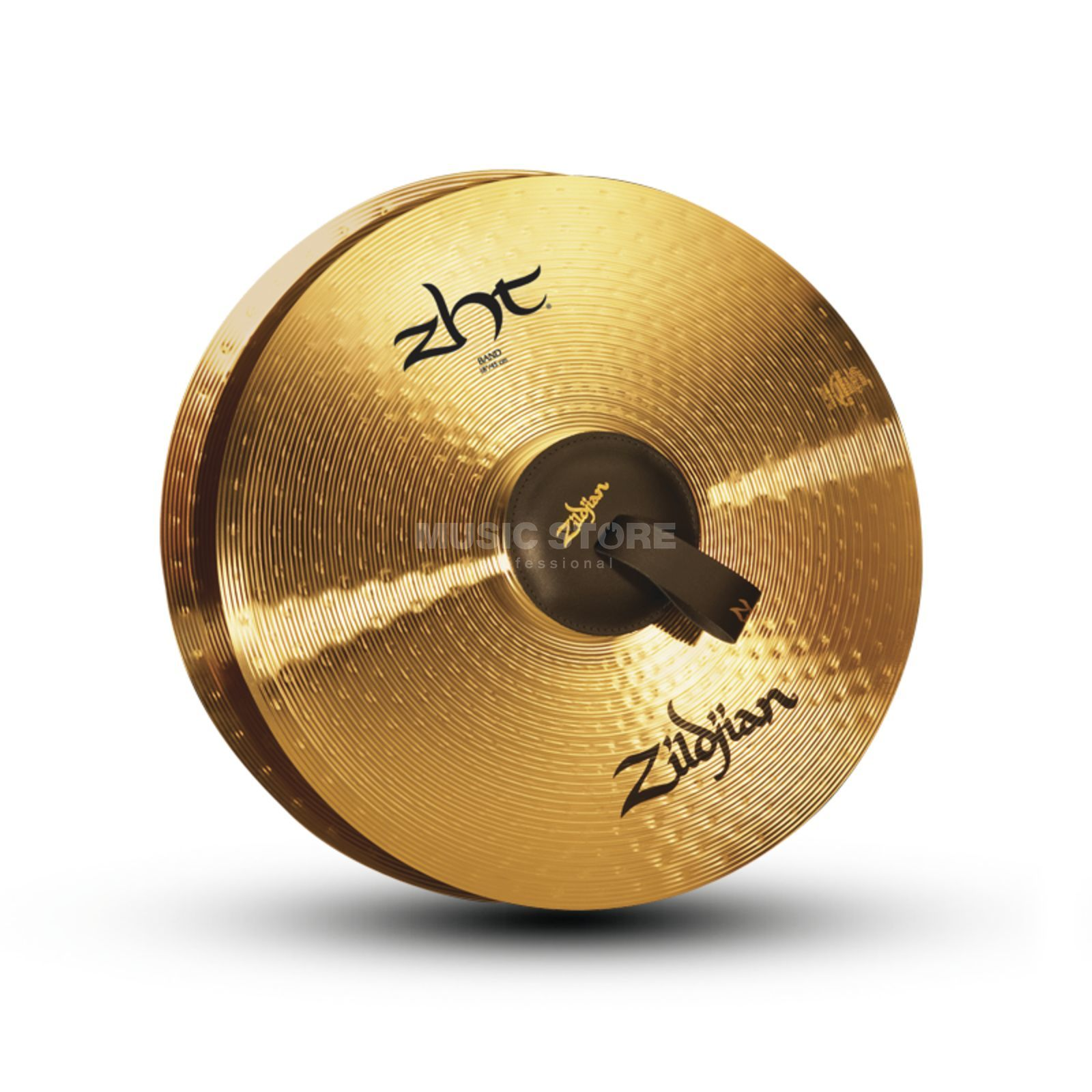 "Zildjian ZHT Marching Cymbals 18"", Traditional Finish Produktbillede"