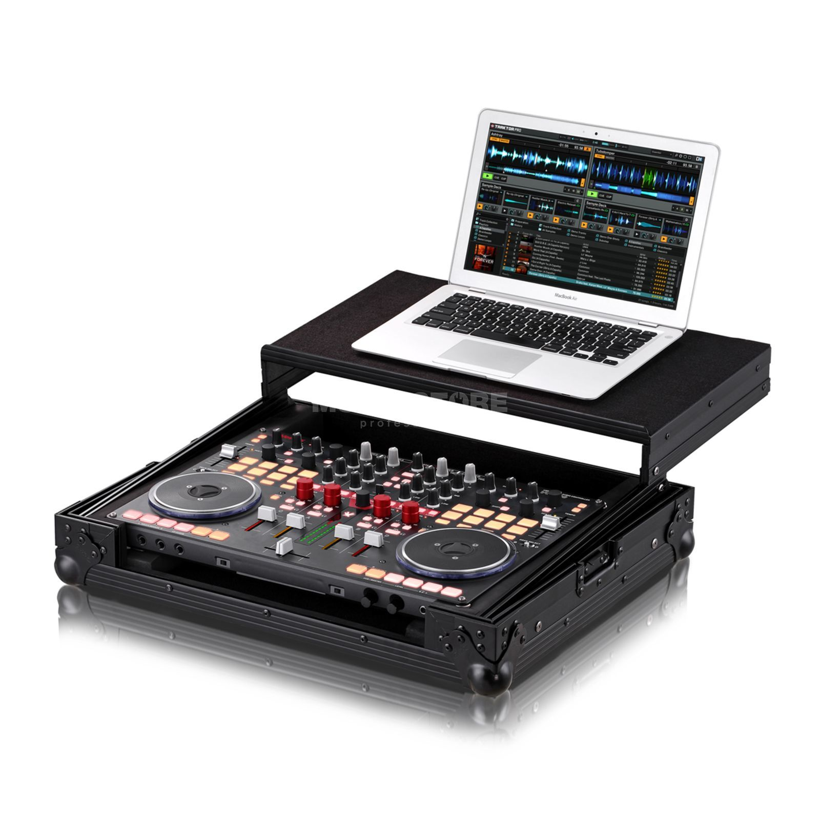 Zomo Flightcase VCI-400 PLUS NSE for Vestax VCI-400 + Laptop Produktbillede