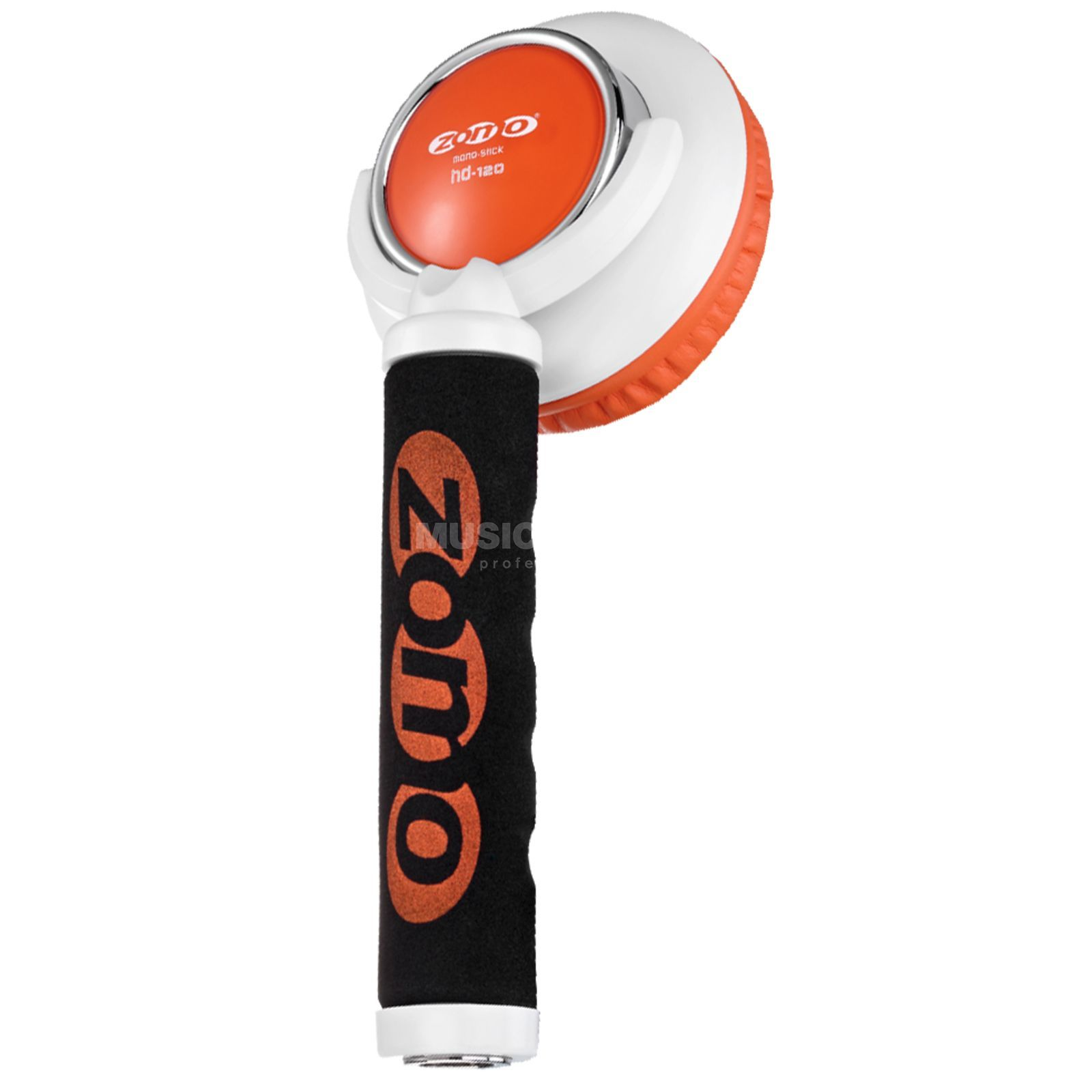 Zomo Mono-Stick HD-120 white/orange Produktbild