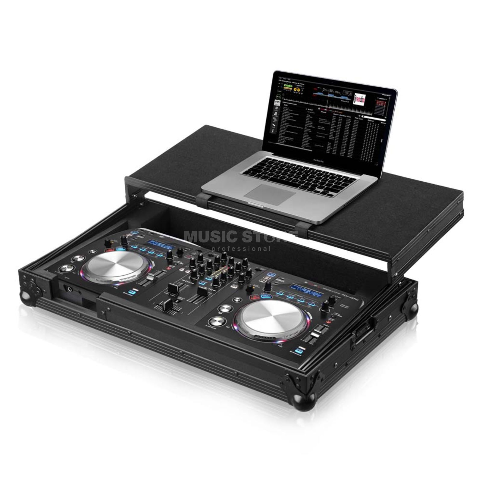 Zomo P-XDJ-AERO PLUS NSE Case for XDJ-AERO + Laptop Product Image