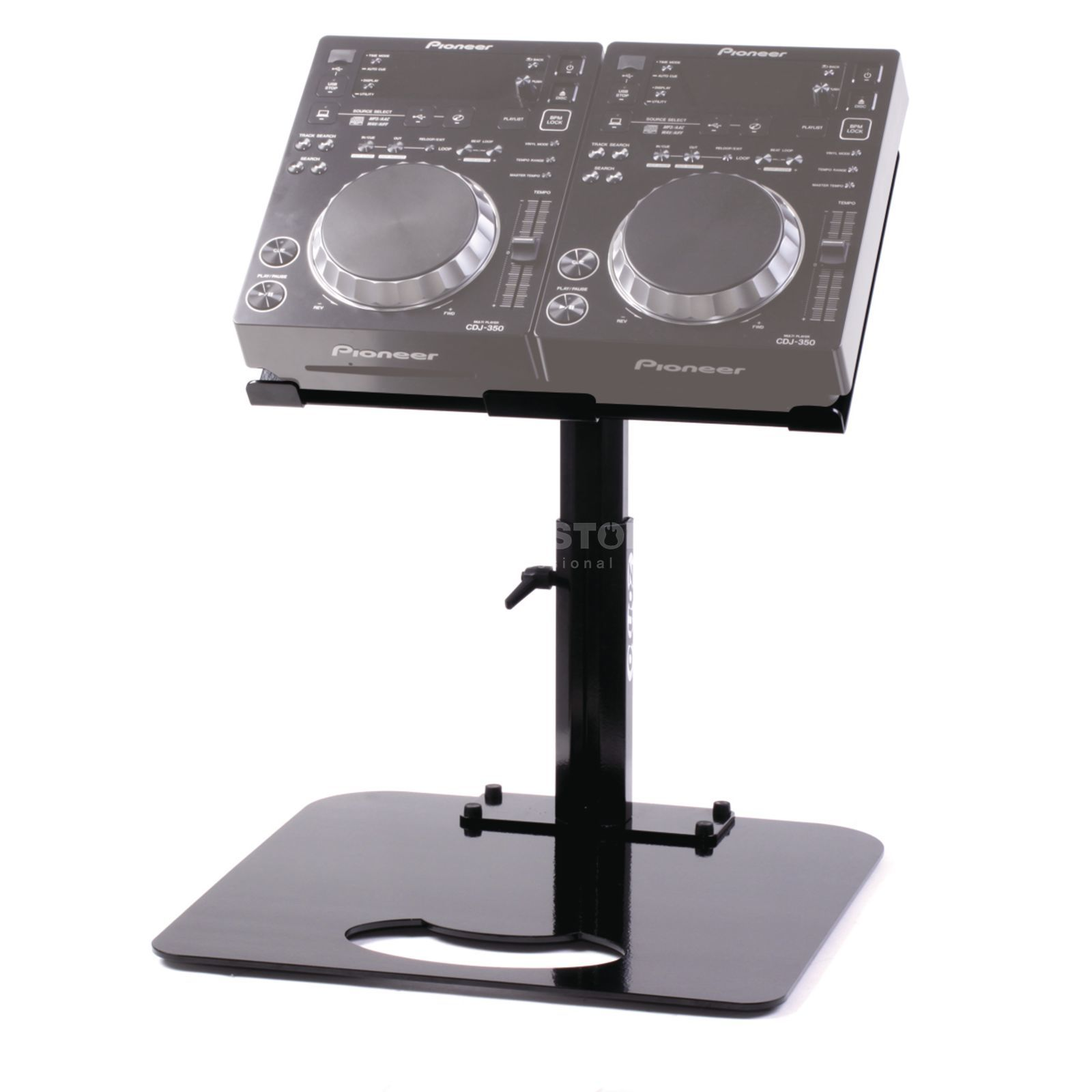 Zomo Pro Stand P 2 Zwart Voor 2x Pioneer Cdj