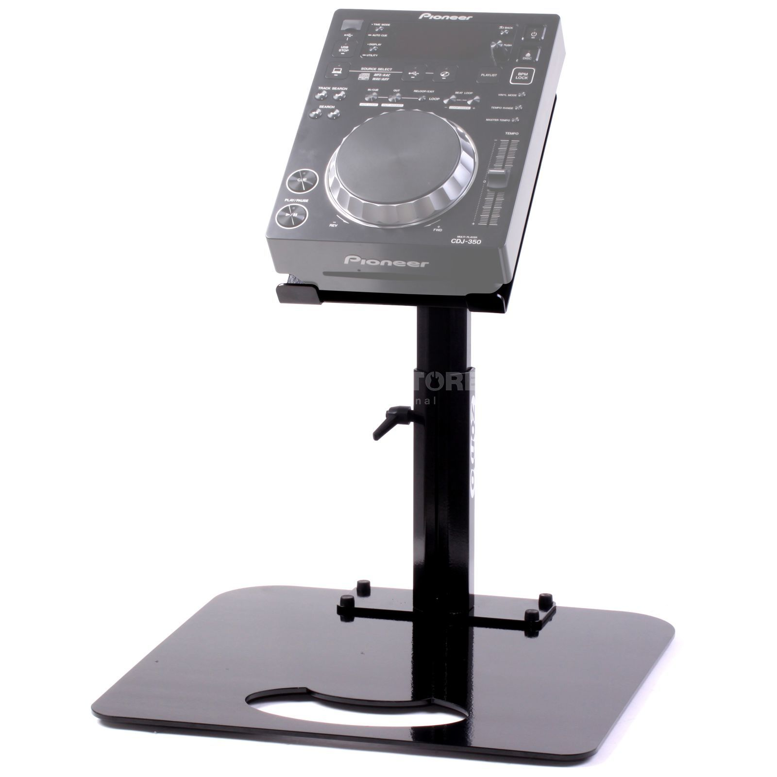 Zomo Pro Stand P-350 Black for 1x Pioneer CDJ-351 Product Image