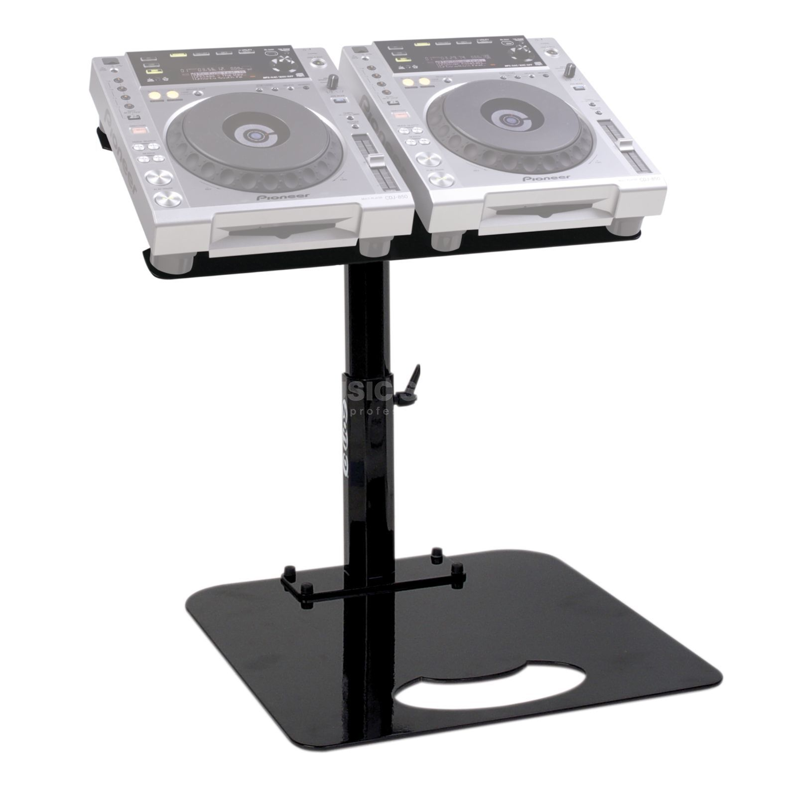 Zomo Pro Stand P-850/2 Black for 2x Pioneer CDJ-851 Product Image