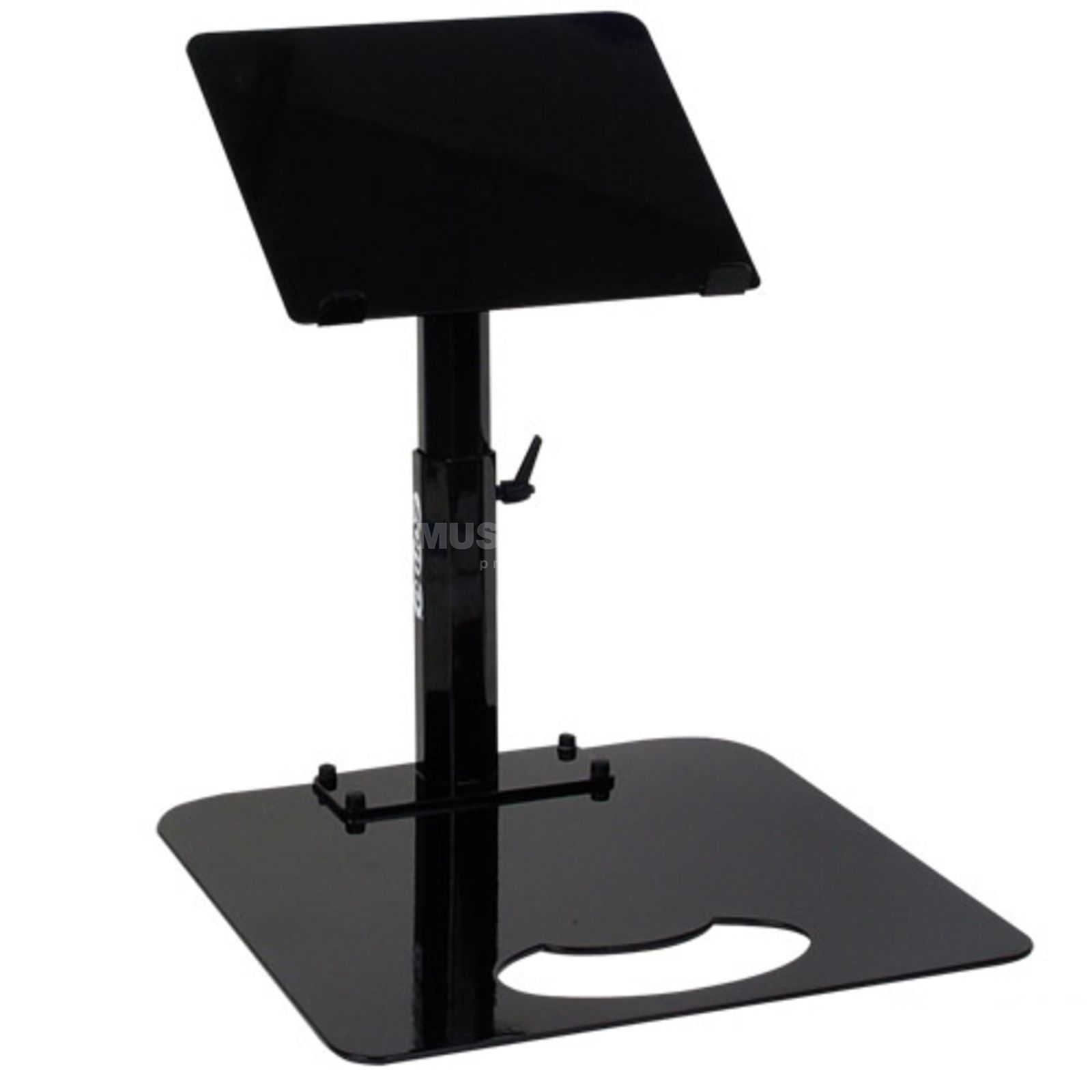Zomo Pro Stand Uni-L Black for 1x Laptop, without Baseplate Product Image