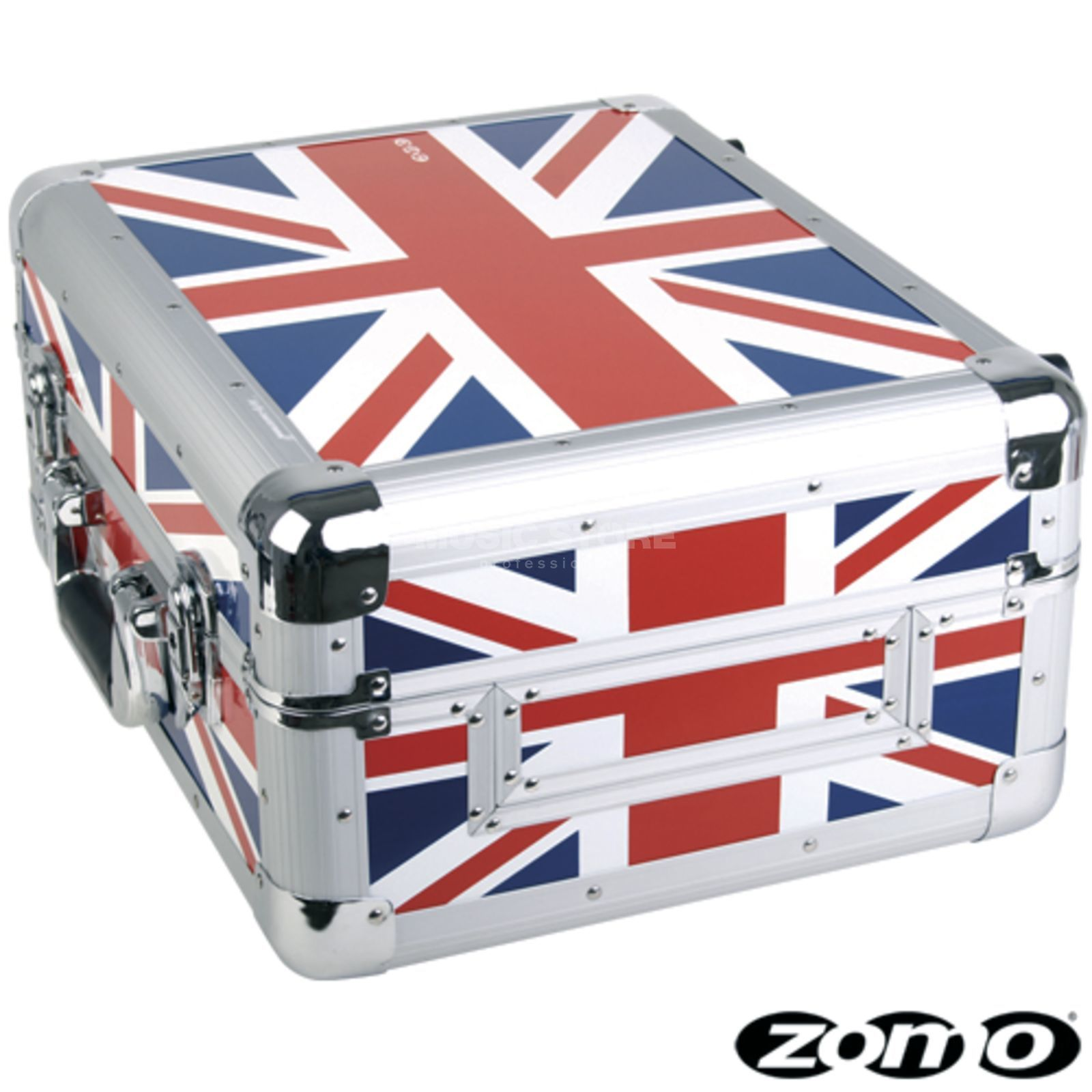 "Zomo Universal Case CDJ-1 UK Flag for CD-Player / 12"" Mixer Immagine prodotto"
