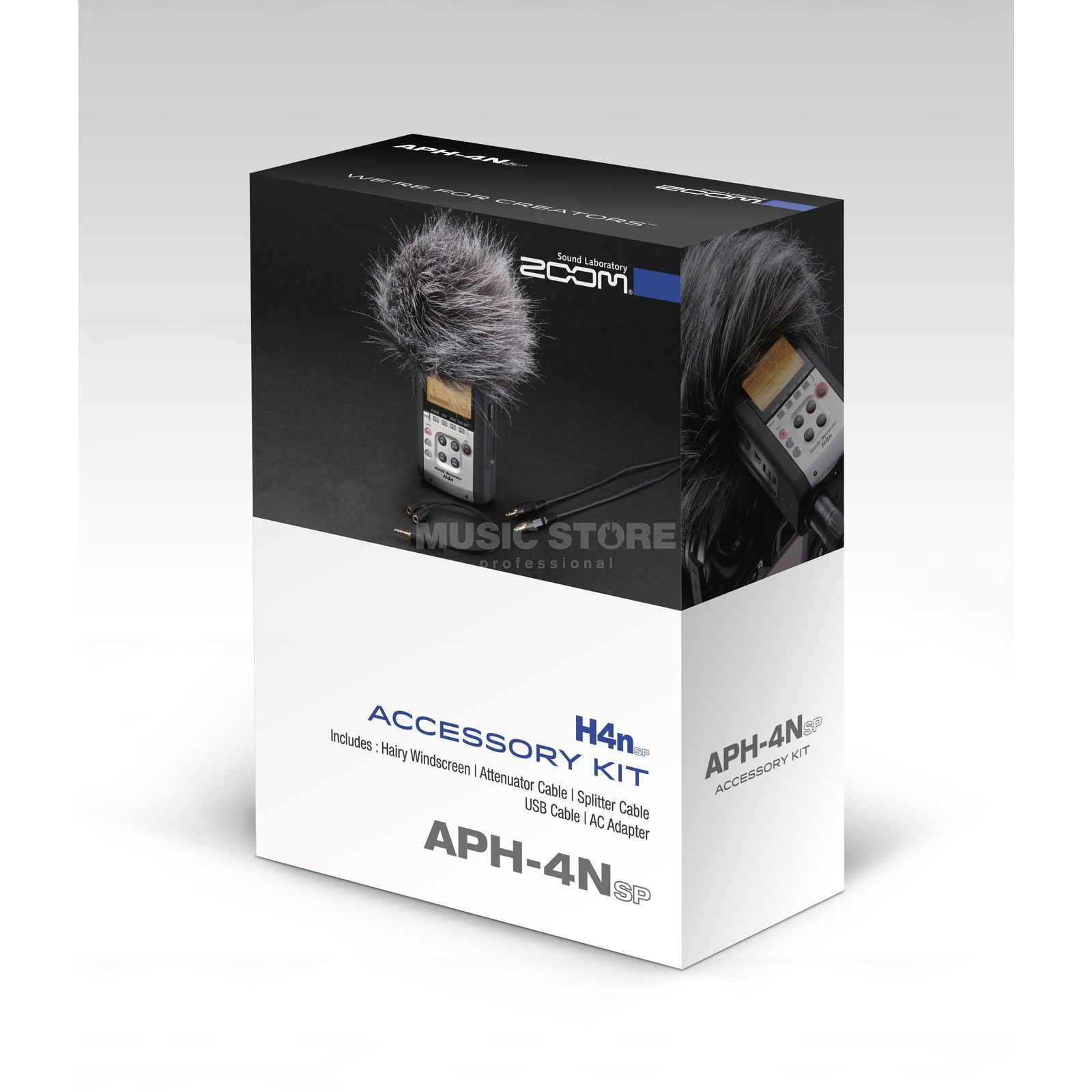 Zoom APH-4N SP Accessorieskit for H4n SP Produktbillede