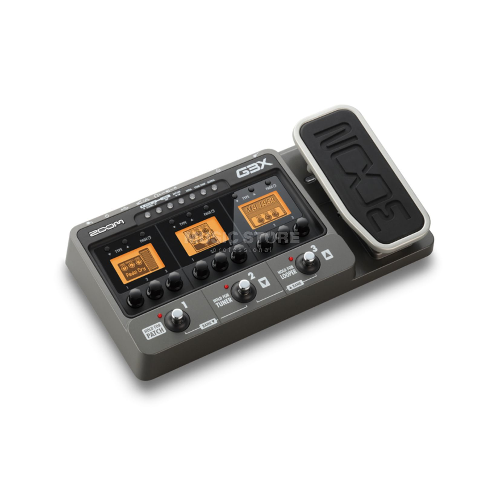 Zoom G3x Guitar Multi Effects Pedal  And USB Audio Interface   Produktbillede