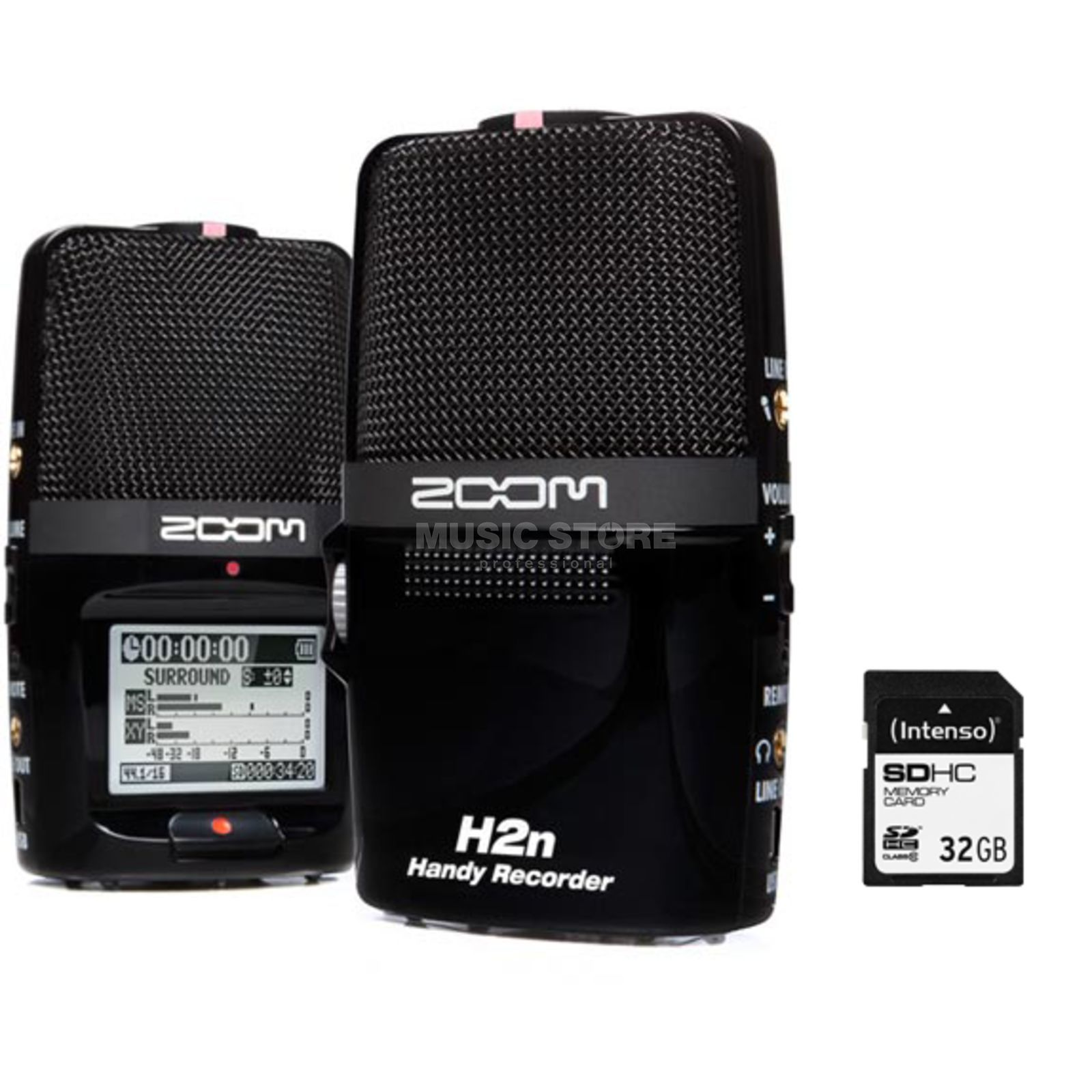 Zoom H2n + 32GB SD Card - Set Produktbild