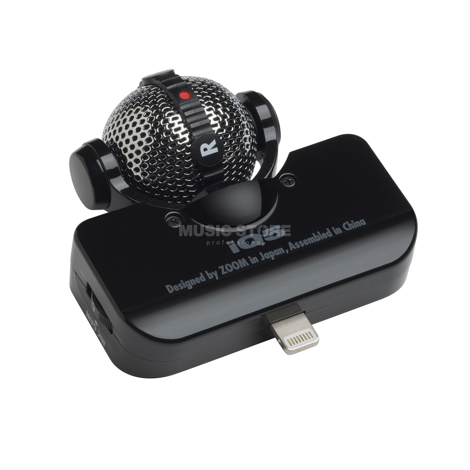 Zoom iQ5 Stereo Microphone Black with Swivel Capsule Produktbillede