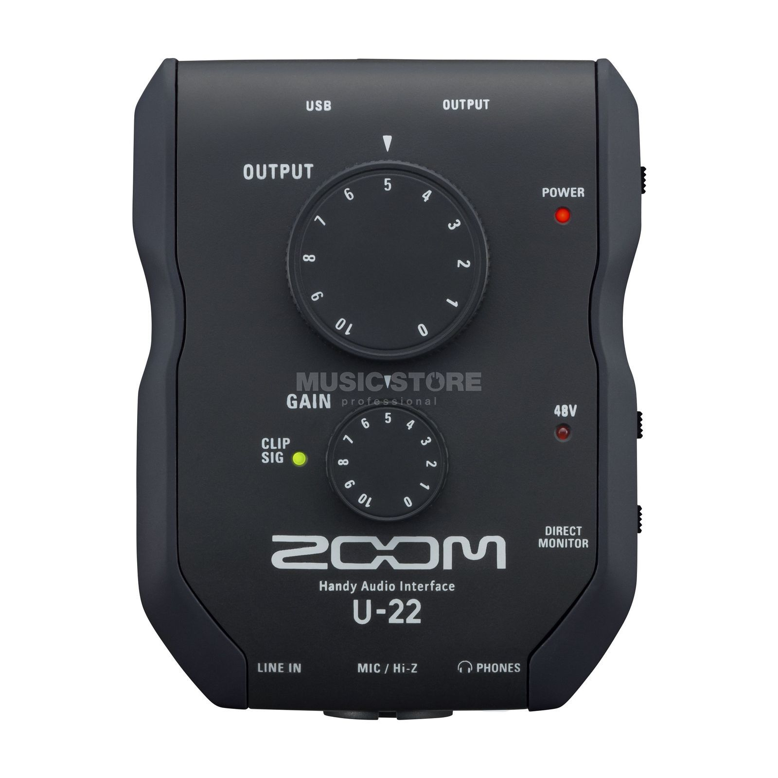 Zoom U-22 Handy Audiointerface Produktbild