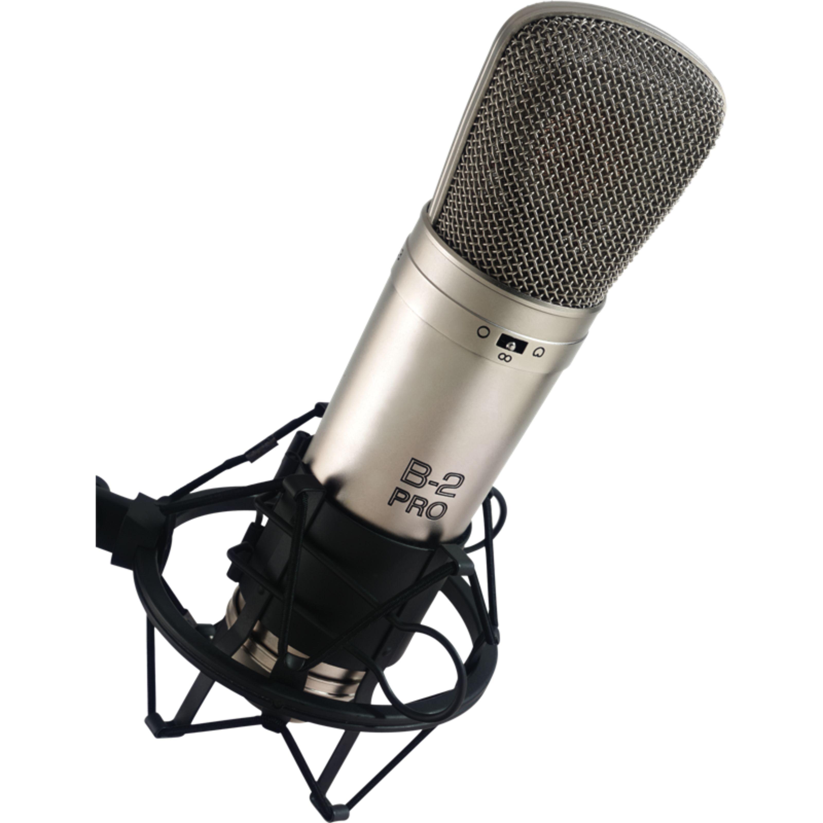 B-2 Pro Großmembran-Mikrofon Kugel//Niere,inkl.Spinne//Koffer Behringer
