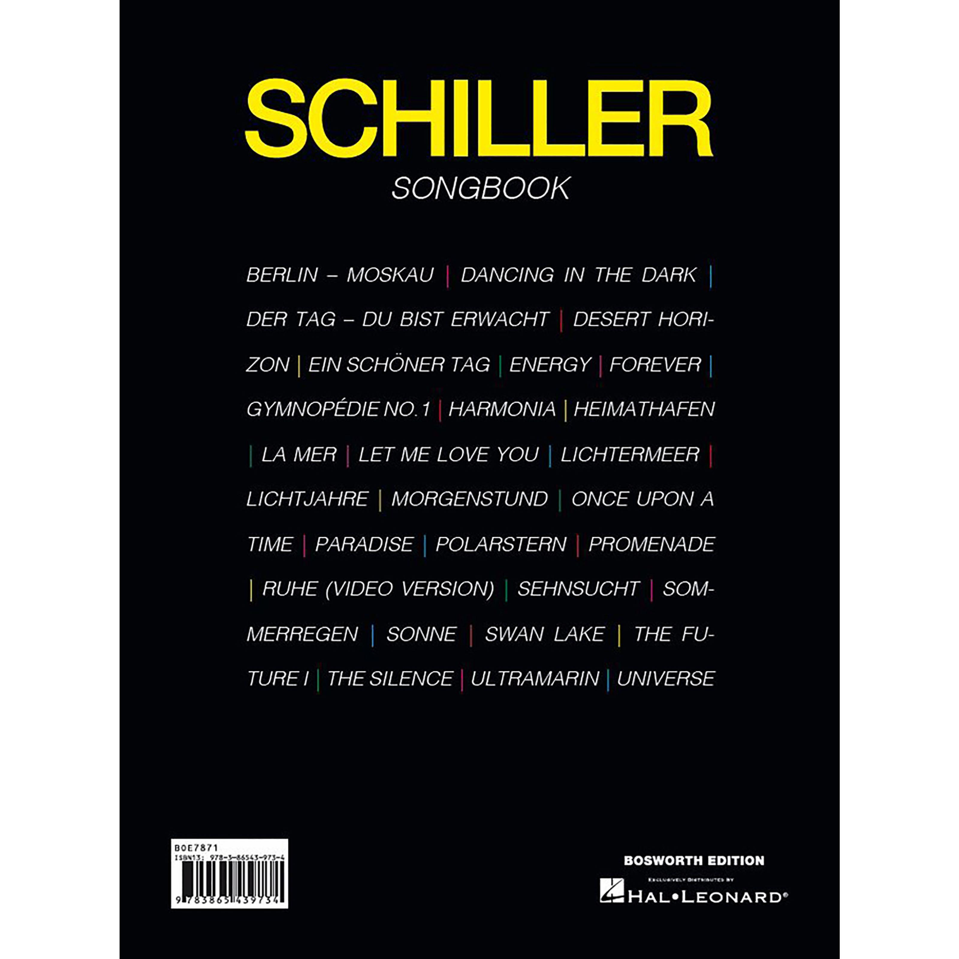 Bosworth Music Schiller Songbook