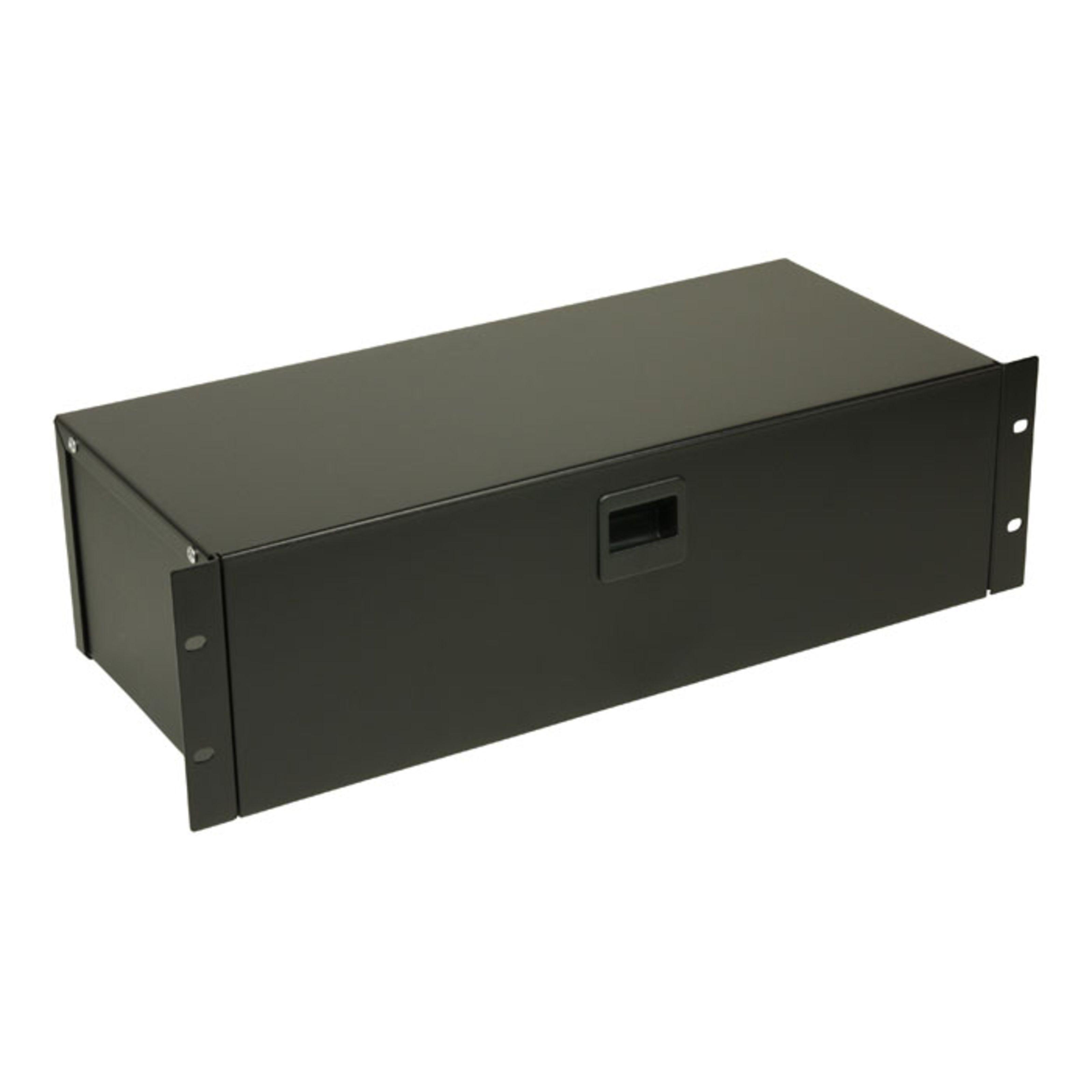 Adam Hall - 87303 - 19 Rackbox 3HE mit Schnappverschluss