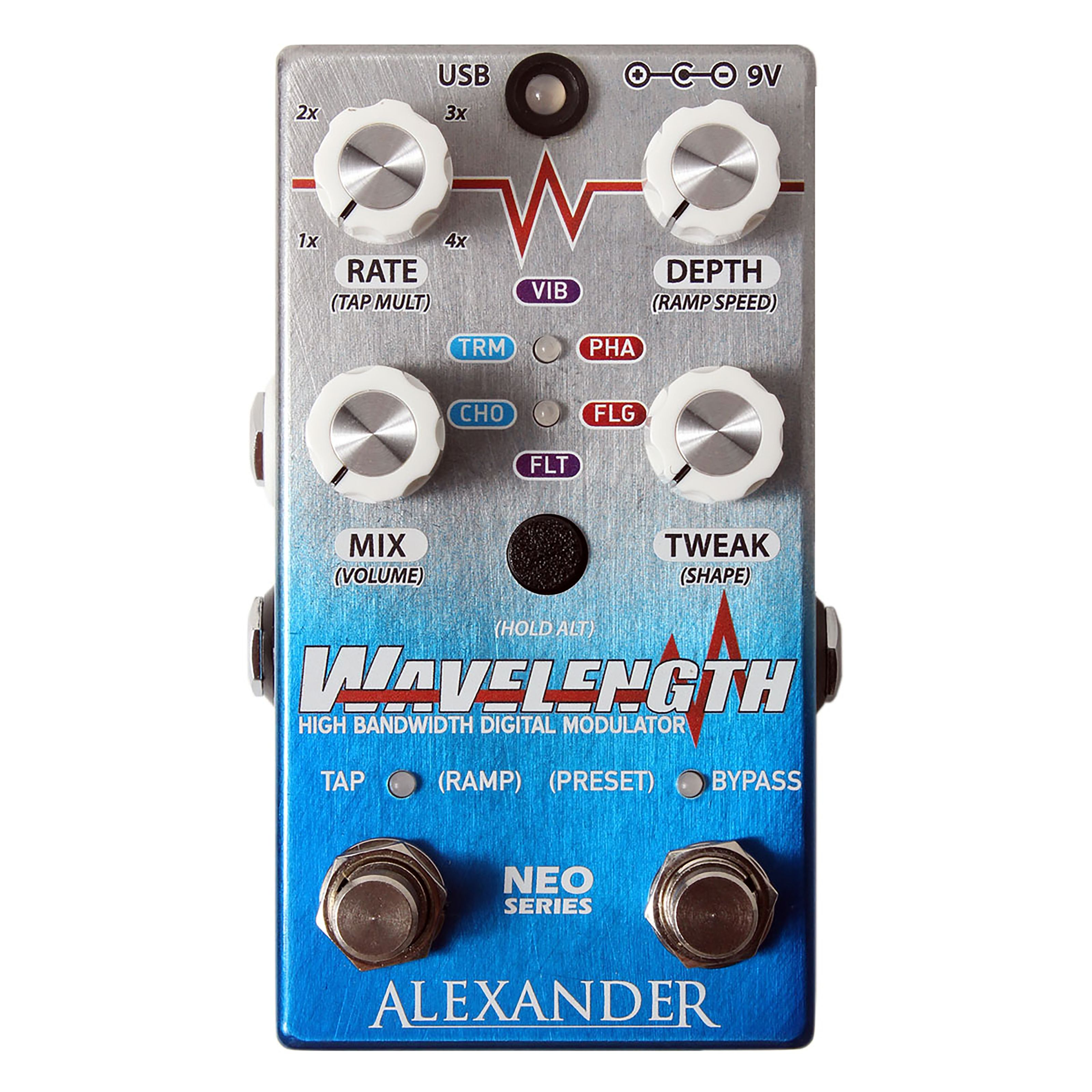 Alexander Pedals - Wavelength High Bandwidth Digital Modulator 9819