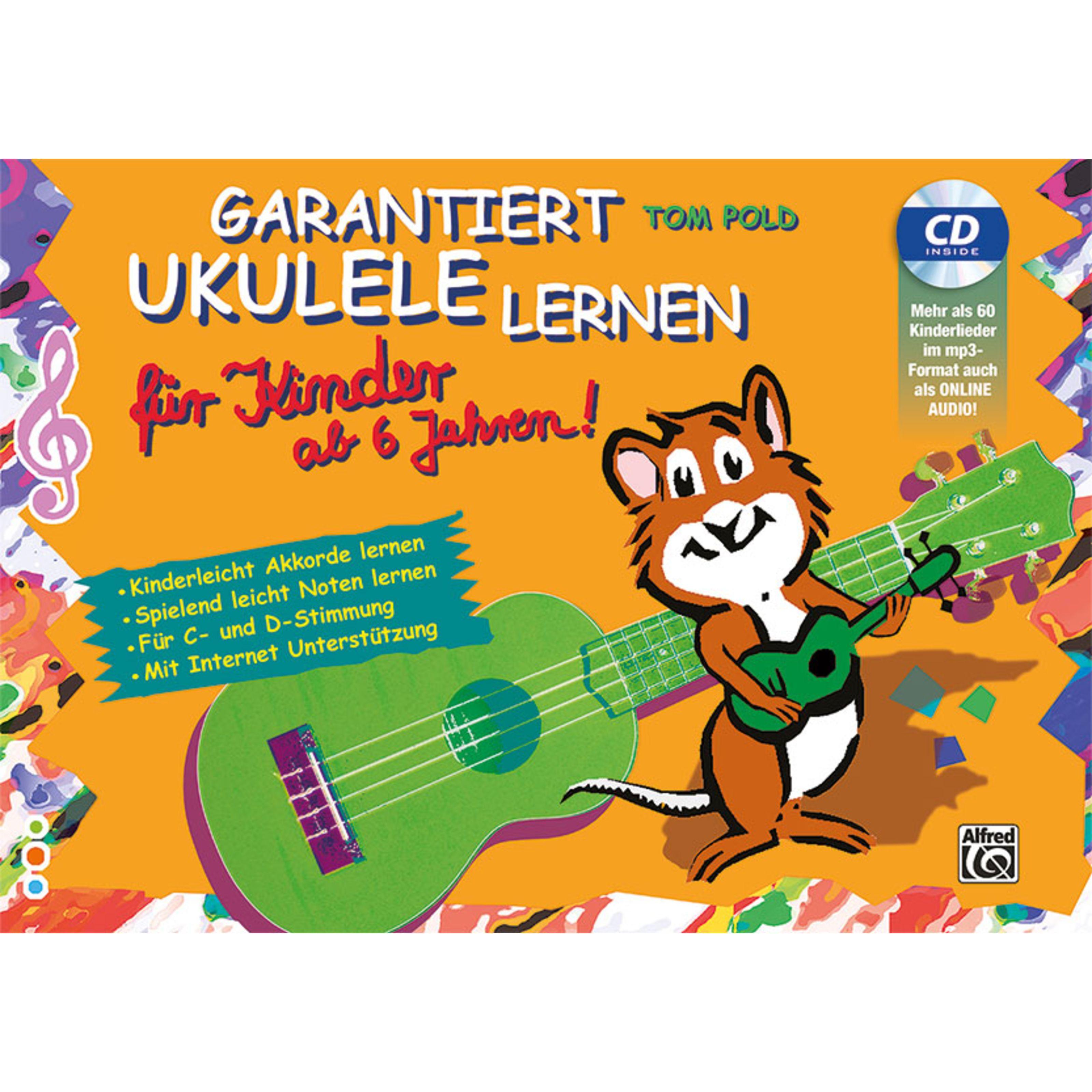 Alfred Music - Garantiert Ukulele lernen für Kinder 00-20202G