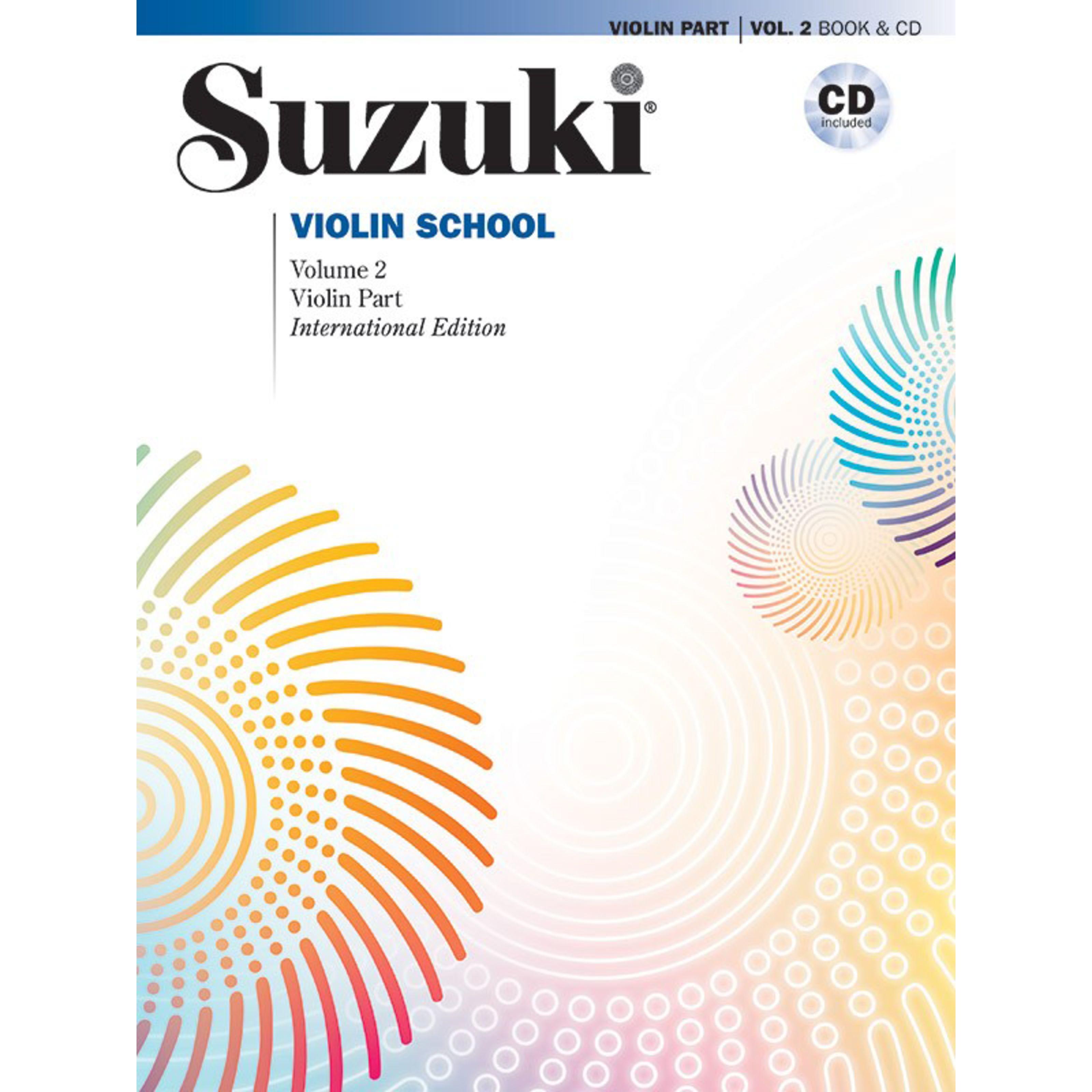 Alfred Music - Suzuki Violin School 2 00-48725