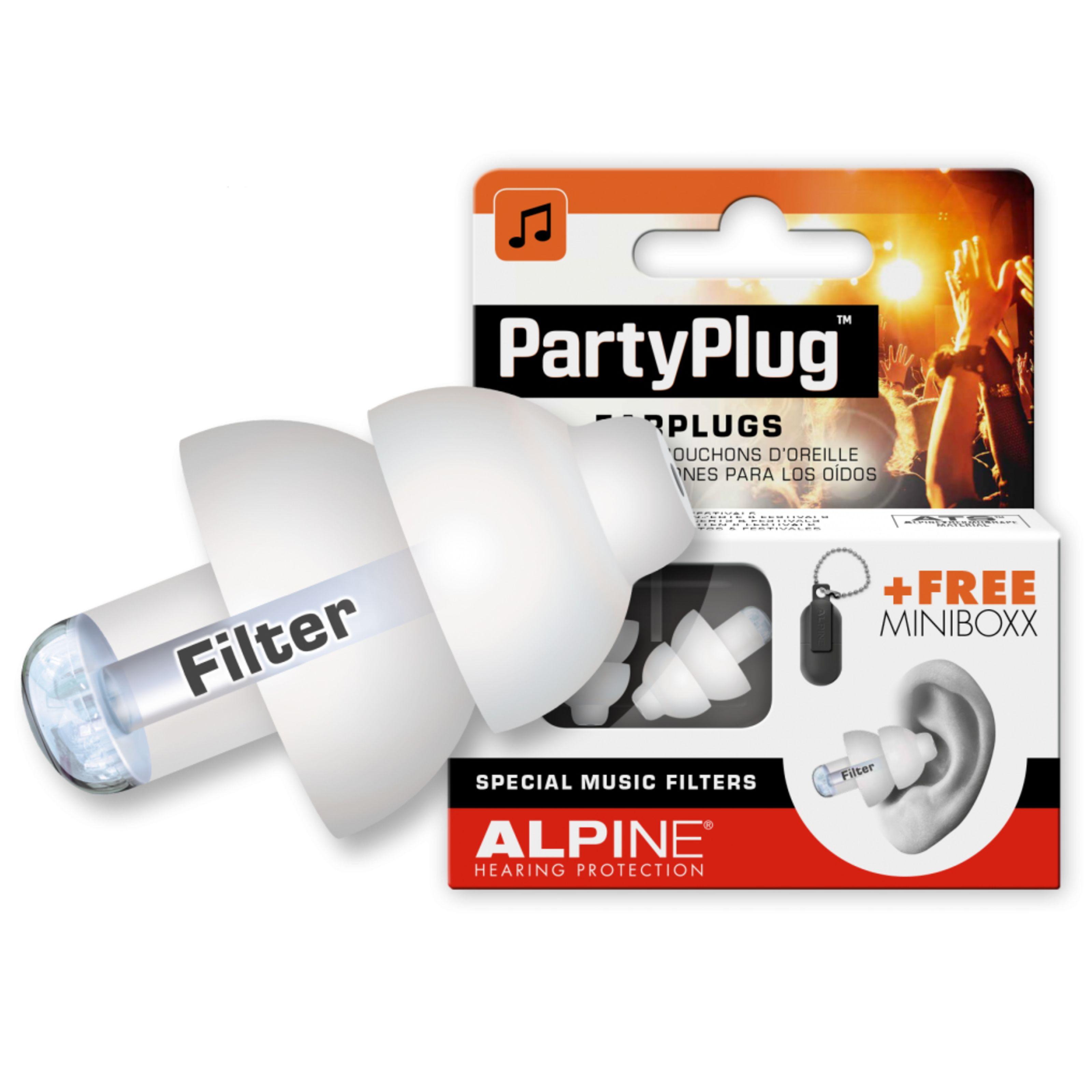 Alpine - PartyPlug Gehörschutz, White 111.21.650