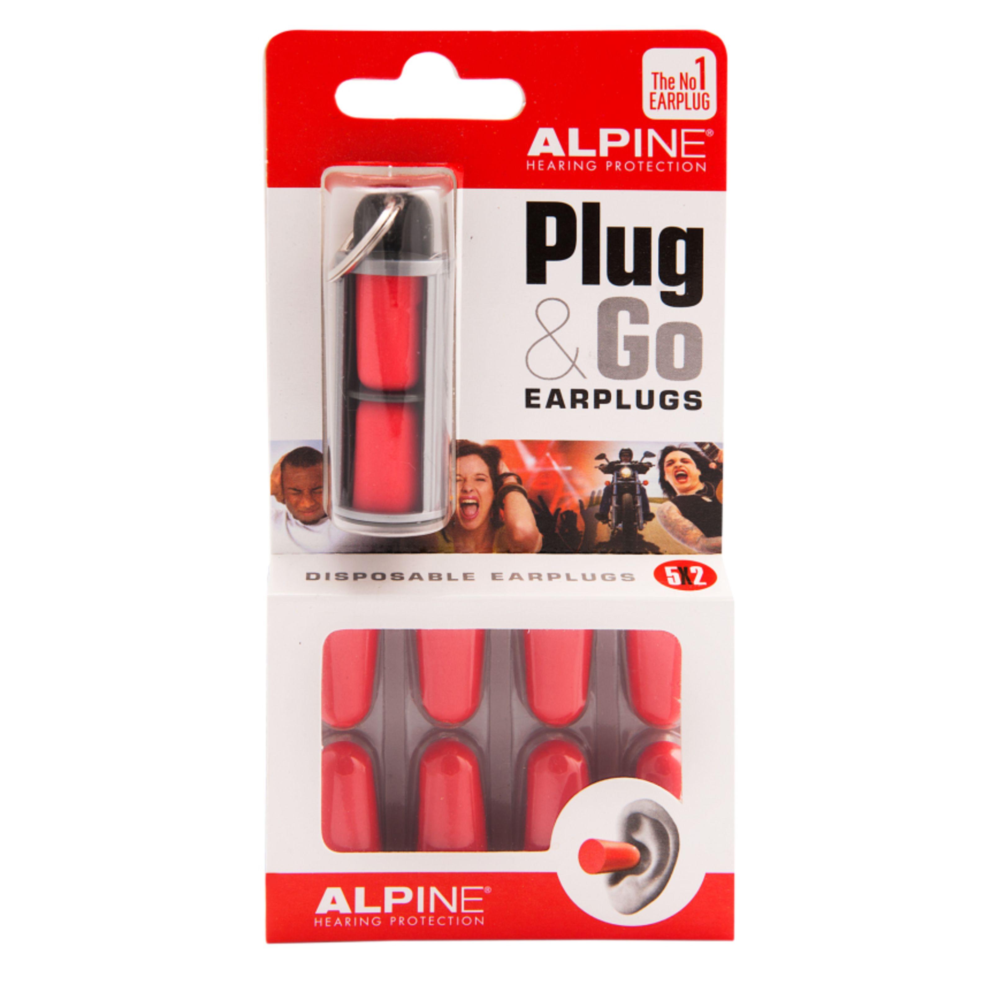 Alpine - Plug&Go Gehörschutz, 5 Paar 111.42.100