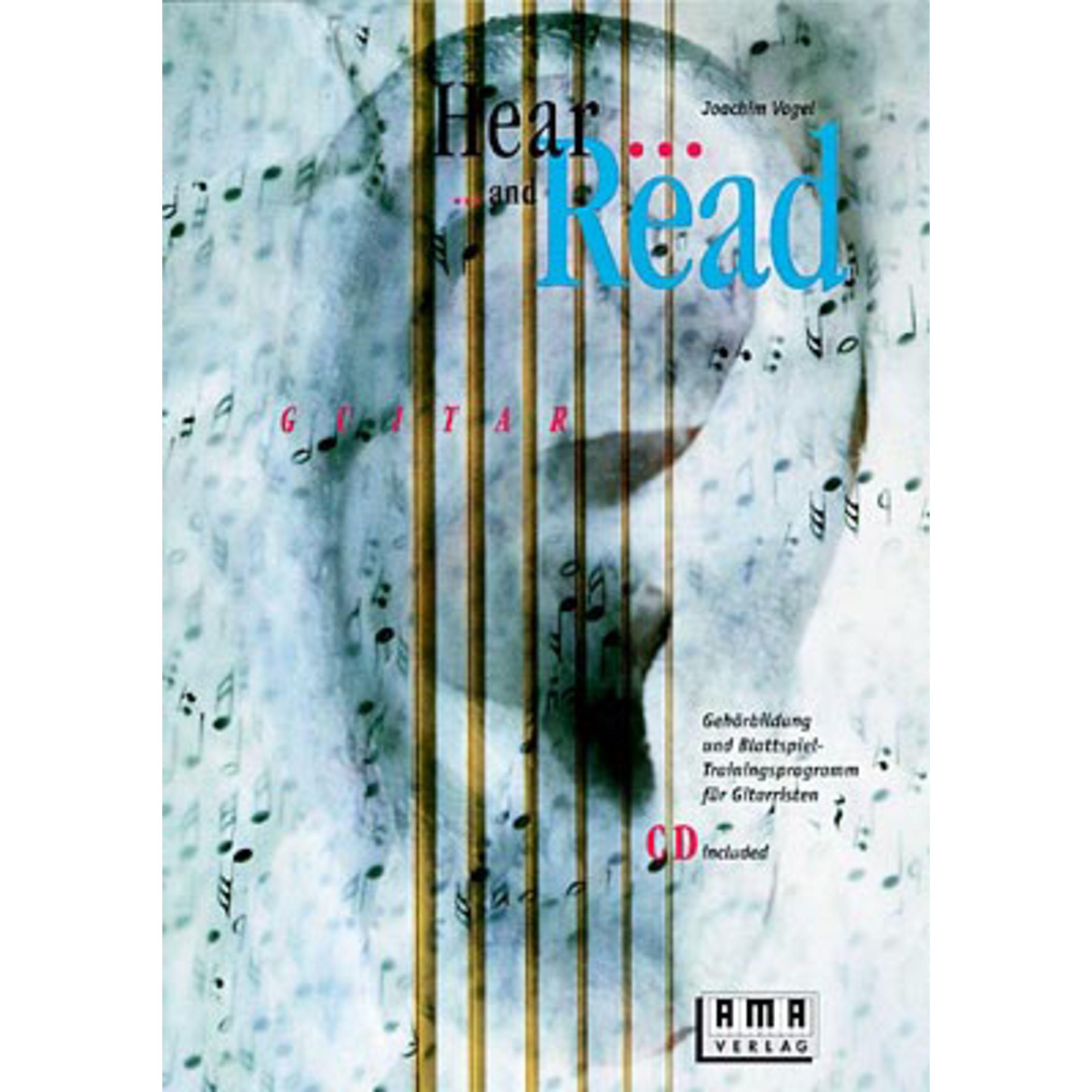 AMA Verlag - Hear and Read Guitar Joachim Vogel,inkl. CD 610144