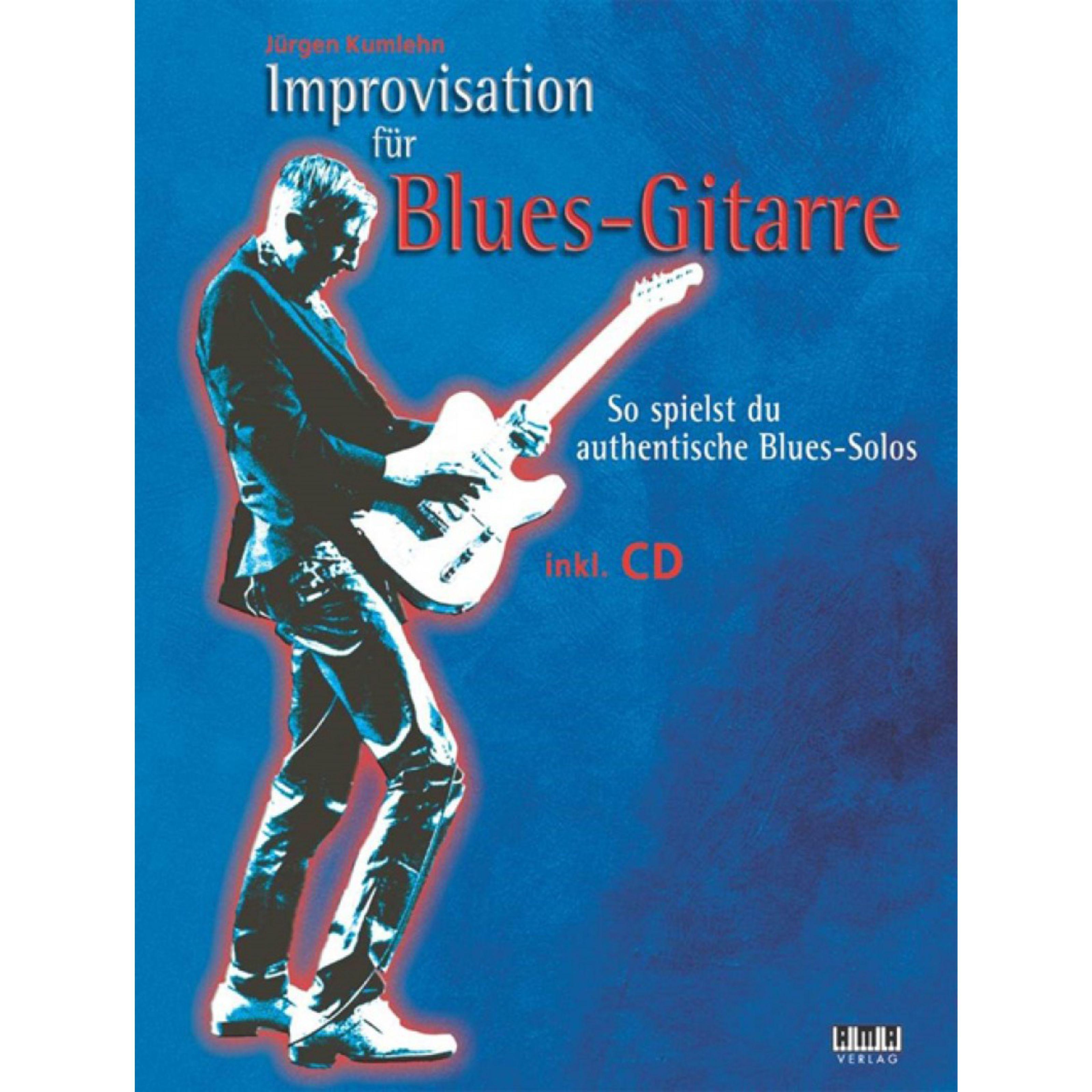 AMA Verlag - Improvisation für Blues-Gitarre 610498