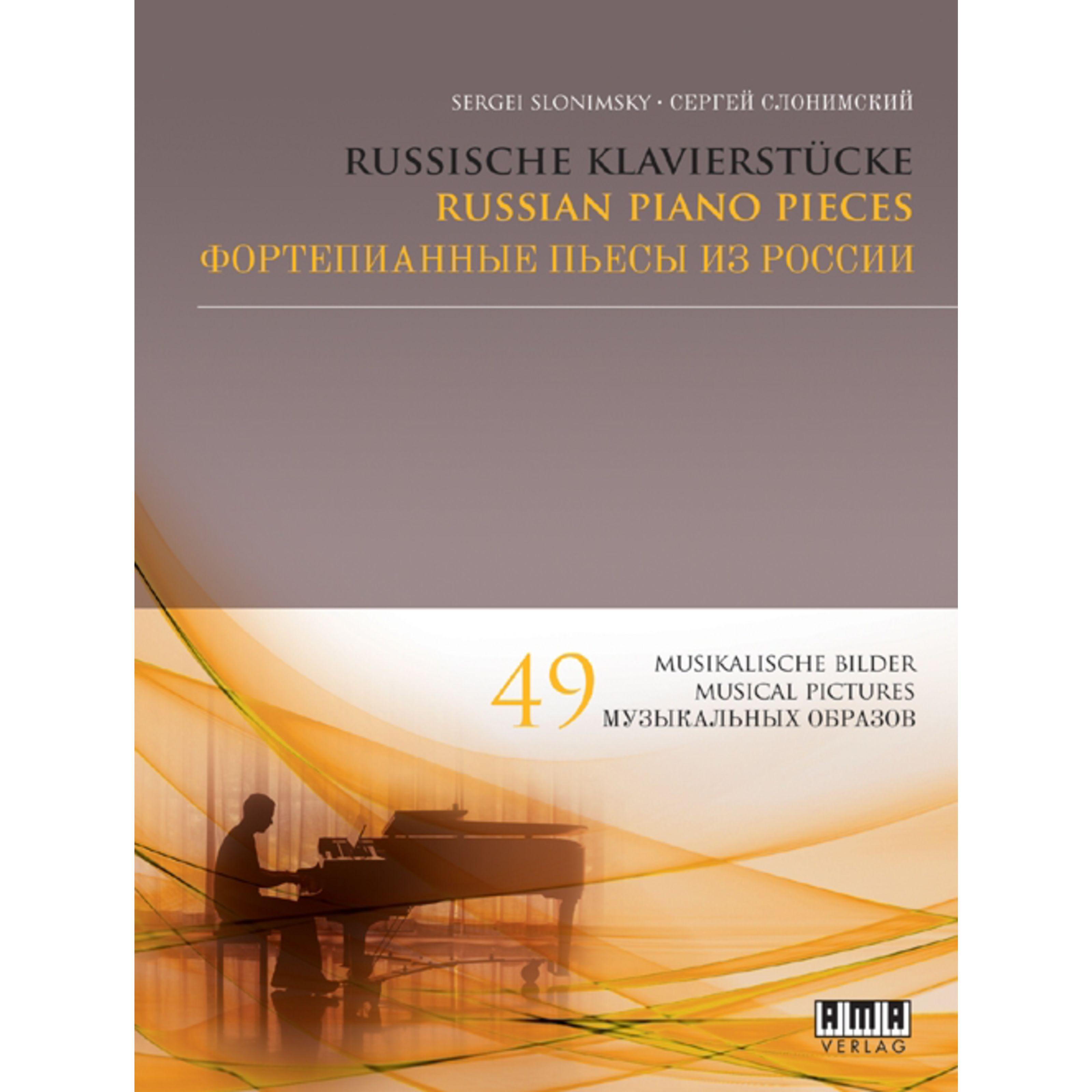 AMA Verlag - Russische Klavierstücke Sergei Slonimsky, Klavier 610443