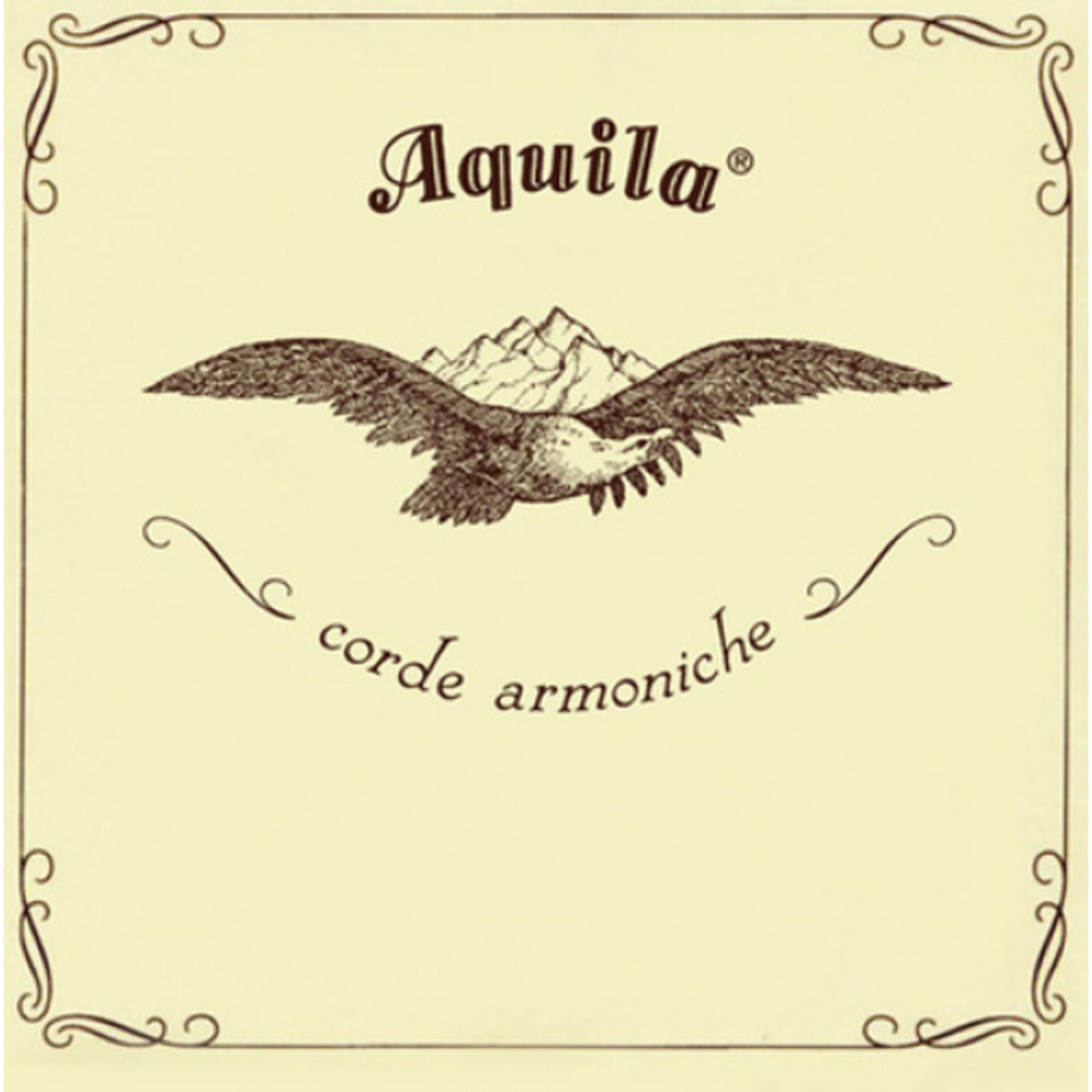 Aquila Corde - Saiten Sopran-Ukulele 33U Satz, Standard Stimmung in D AQ U NN 33U