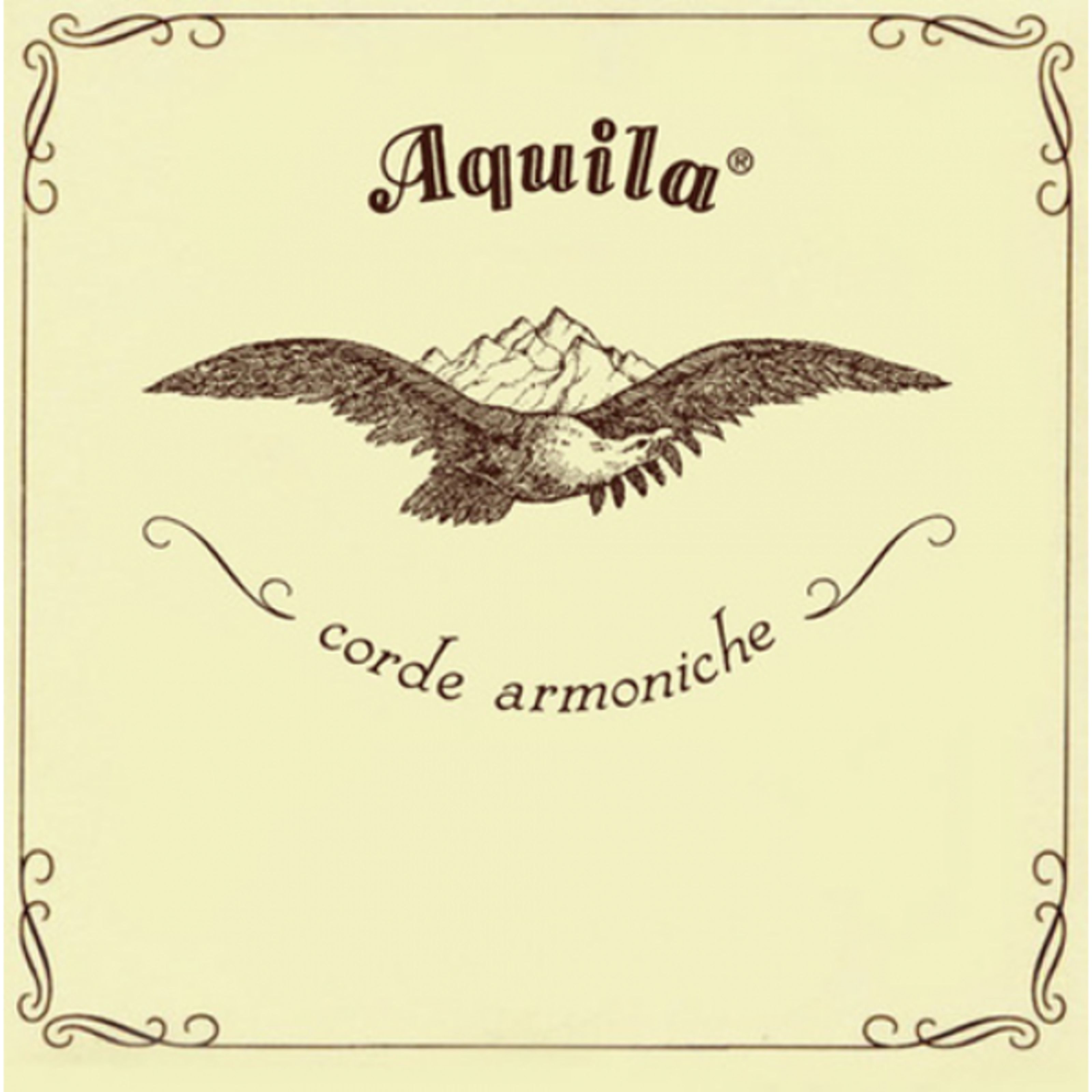 Aquila Corde - Saiten Konzert-Ukulele 7U Satz, Standard Stimmung in C AQ U NN 7U