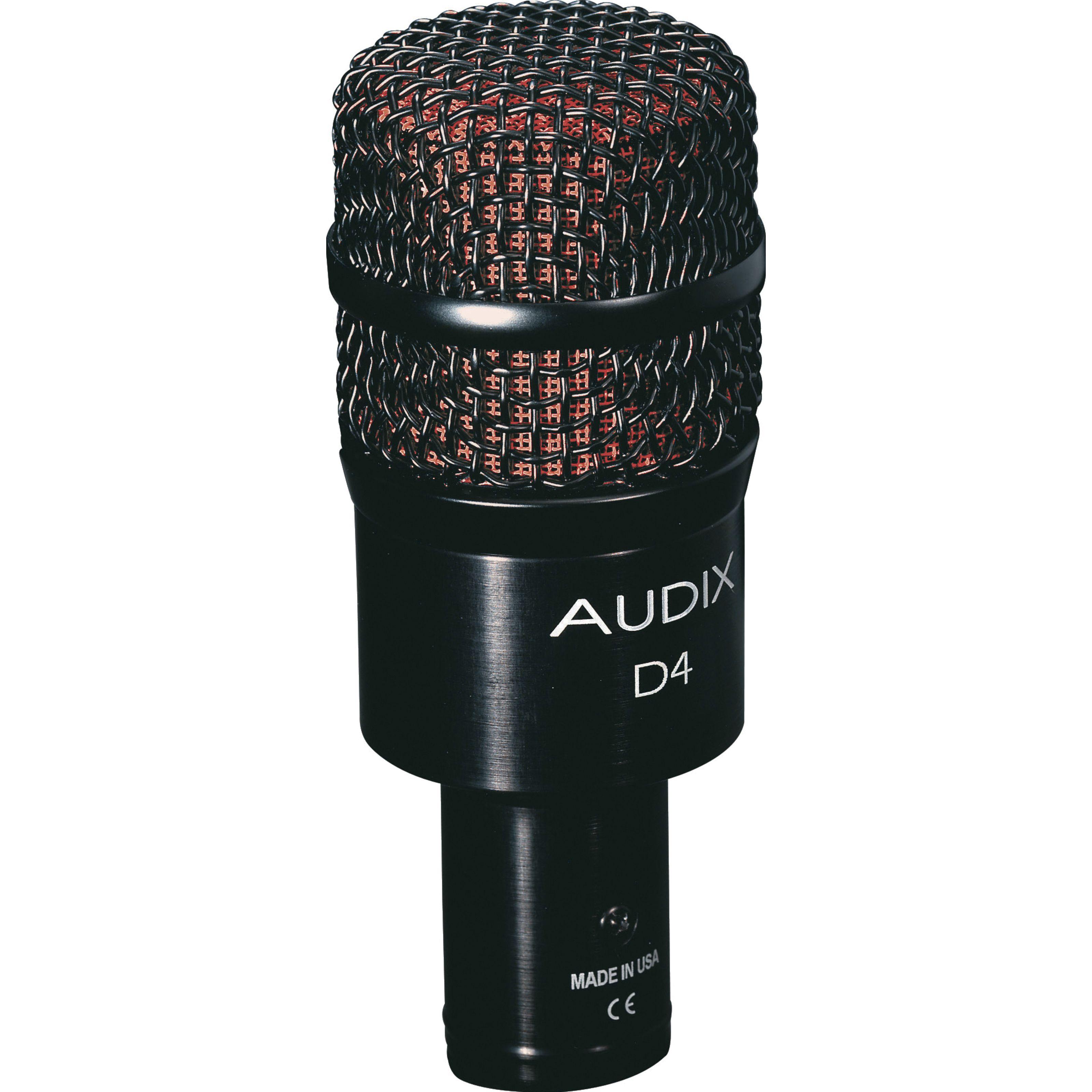 Audix - D4 Dynamisches Mikrofon 36.02.03