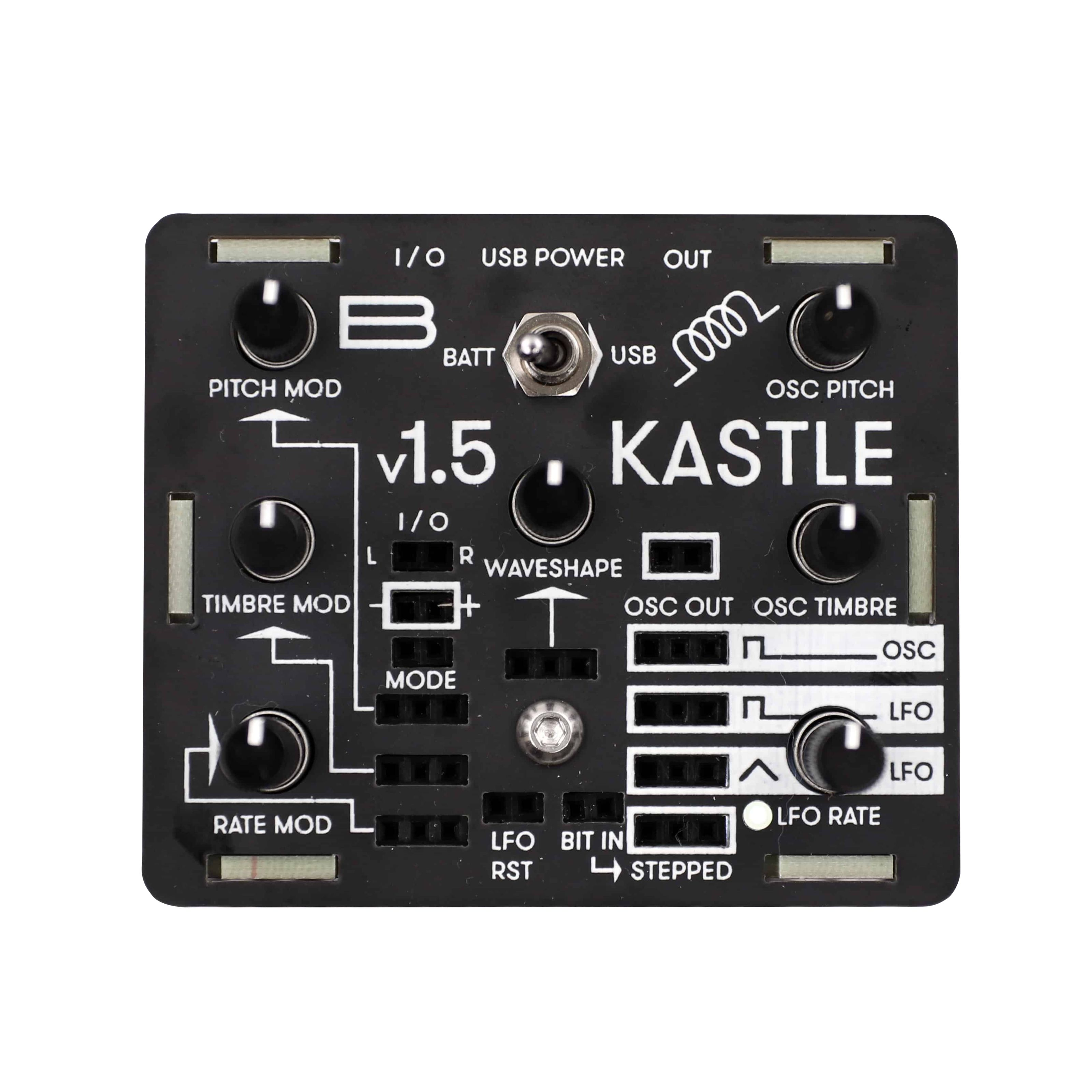 Bastl Instruments - Kastle Synth V1.5 KAS_A