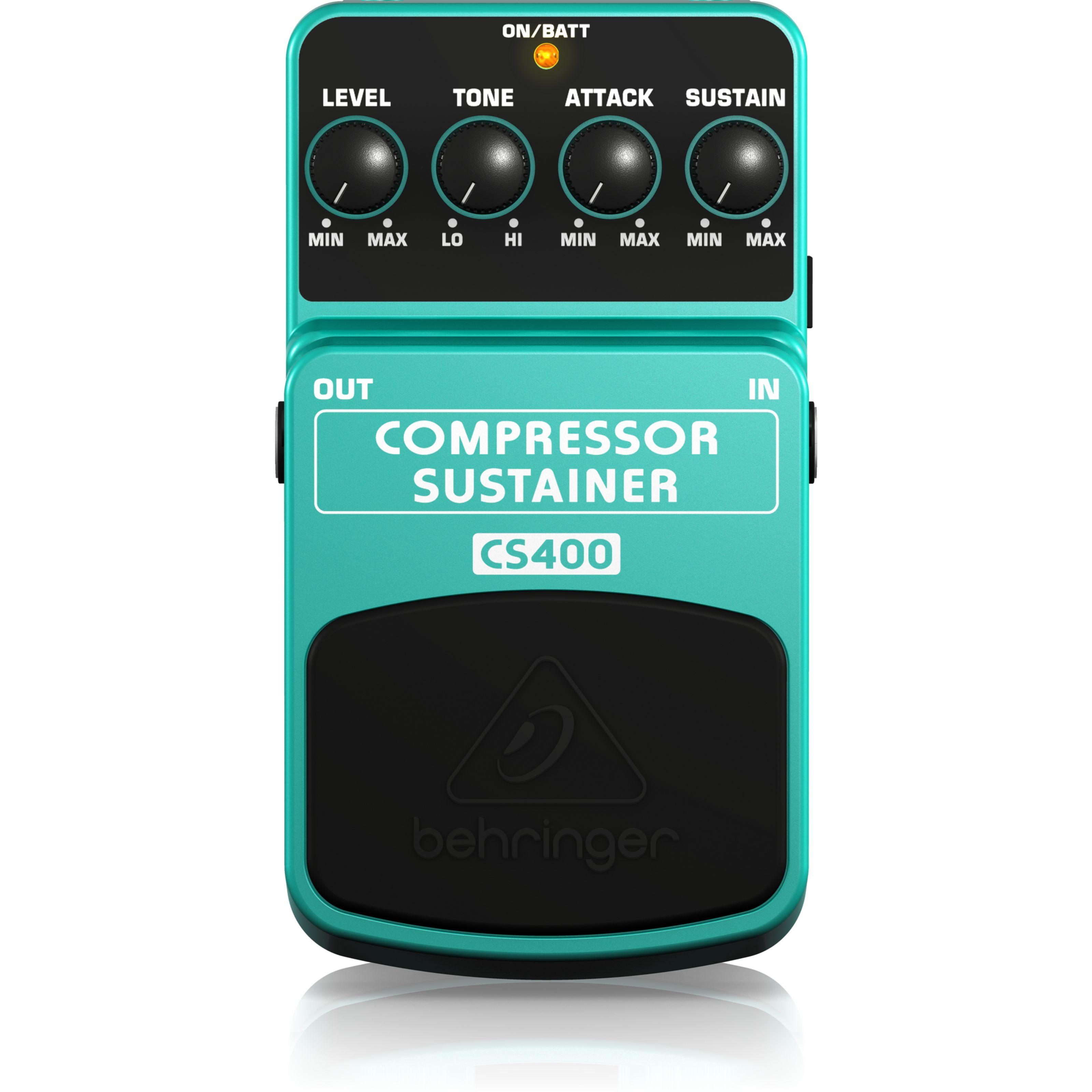 Behringer - CS400 Compressor/Sustainer 000-60500-00010