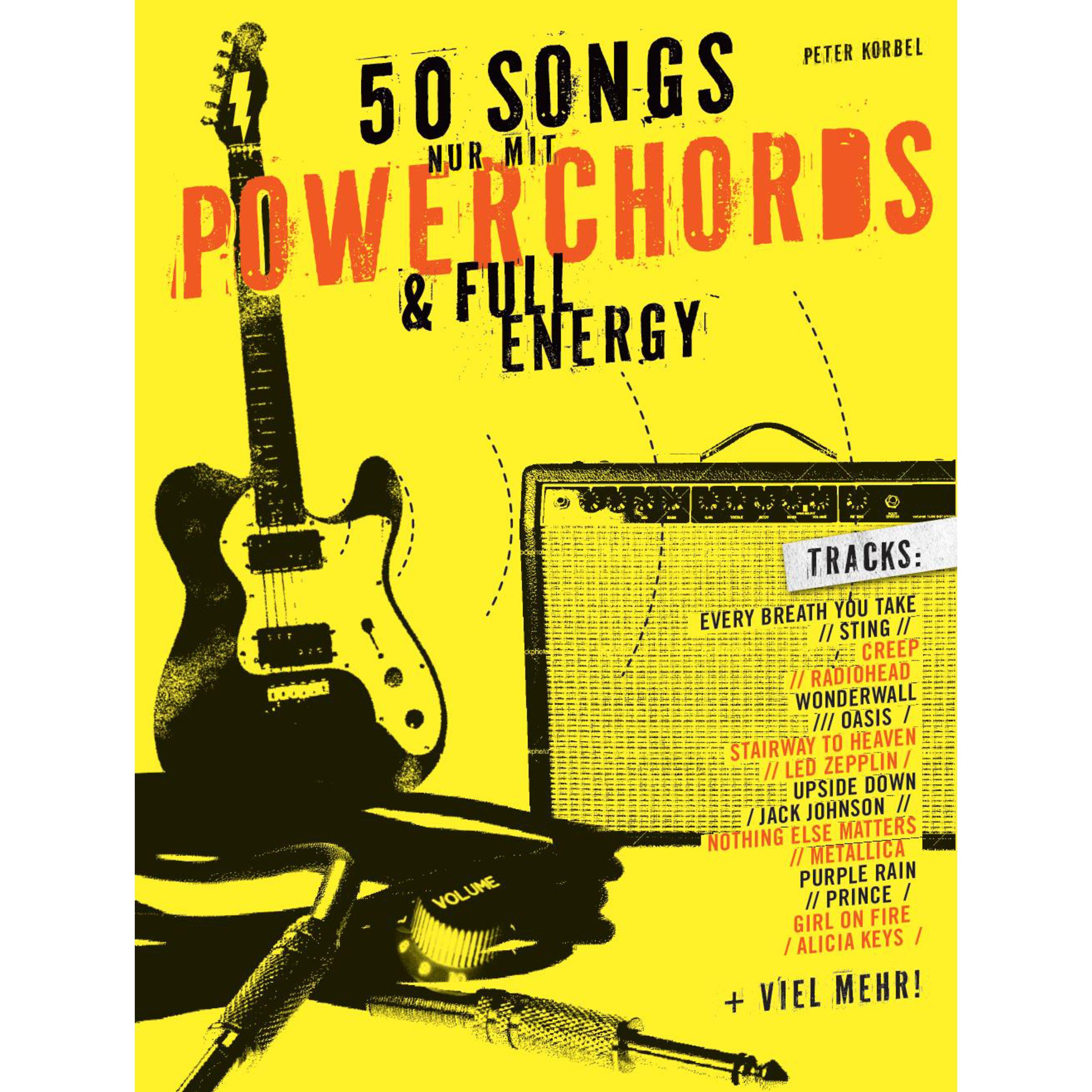 Bosworth Music - 50 Songs nur mit Powerchords & Full Energy BOE7708