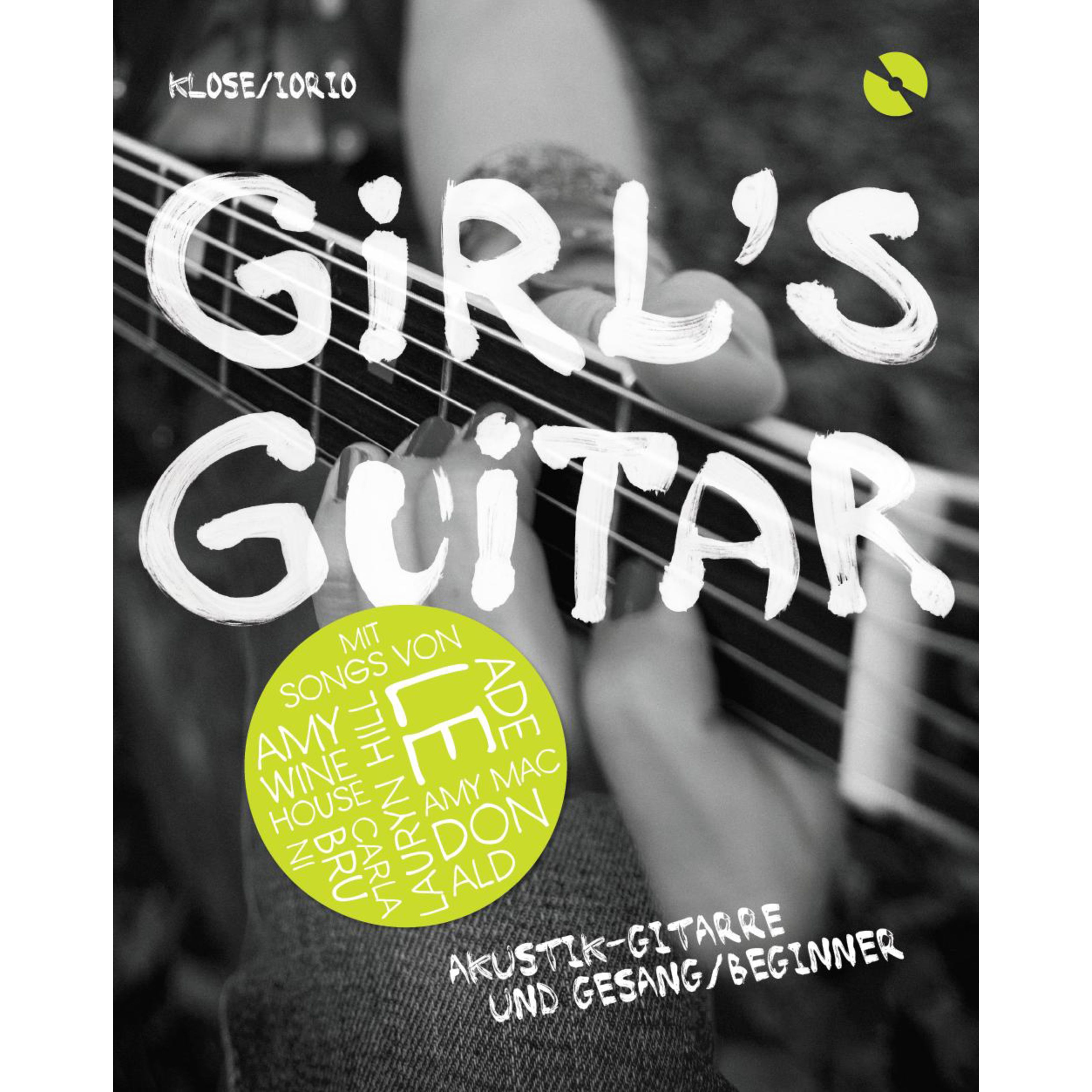 Bosworth Music - Girl's Guitar-Akustik-Gitarre Lehrbuch mit CD BOE7649