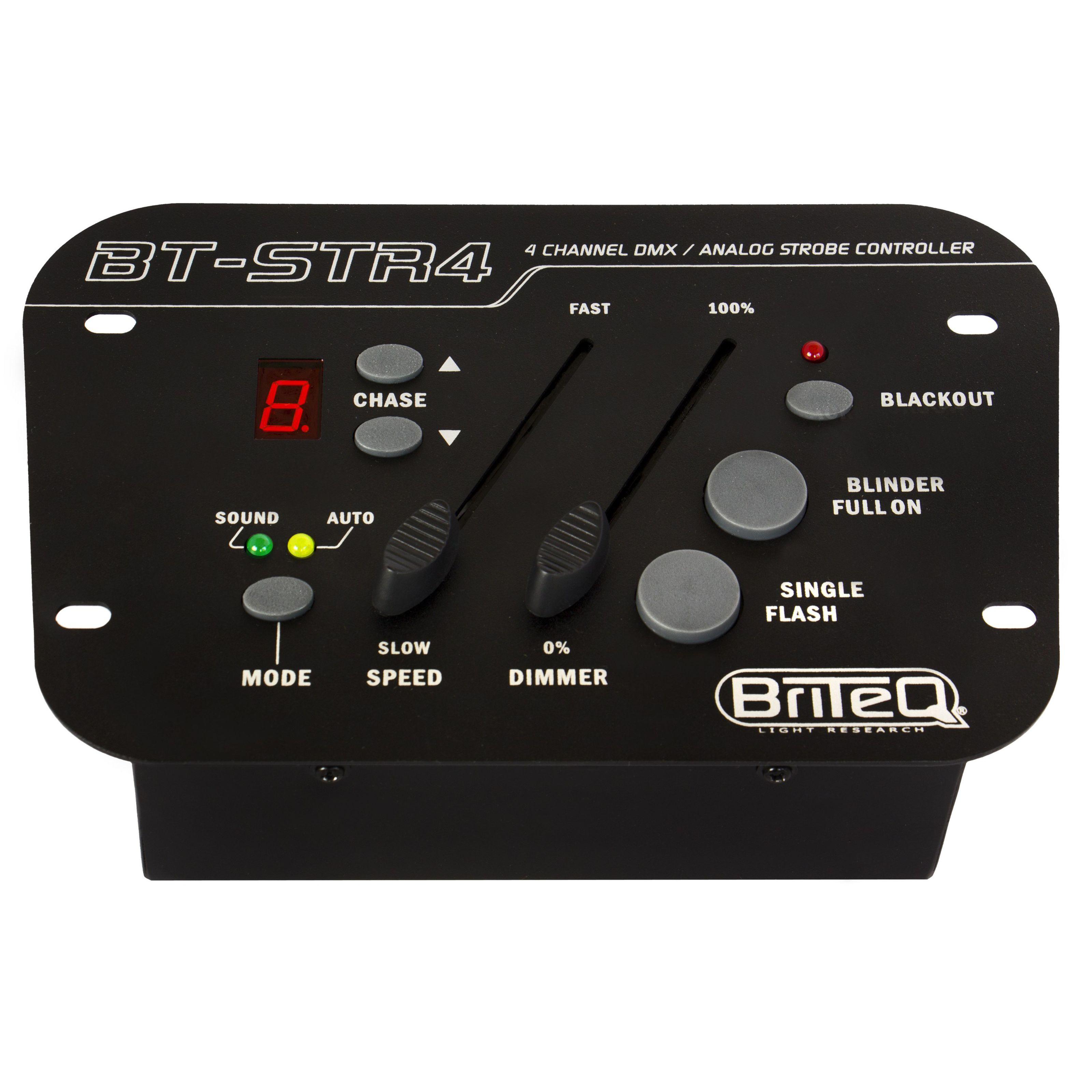 Briteq - BT-STR 4 4-CH Strobe-Controller L32033