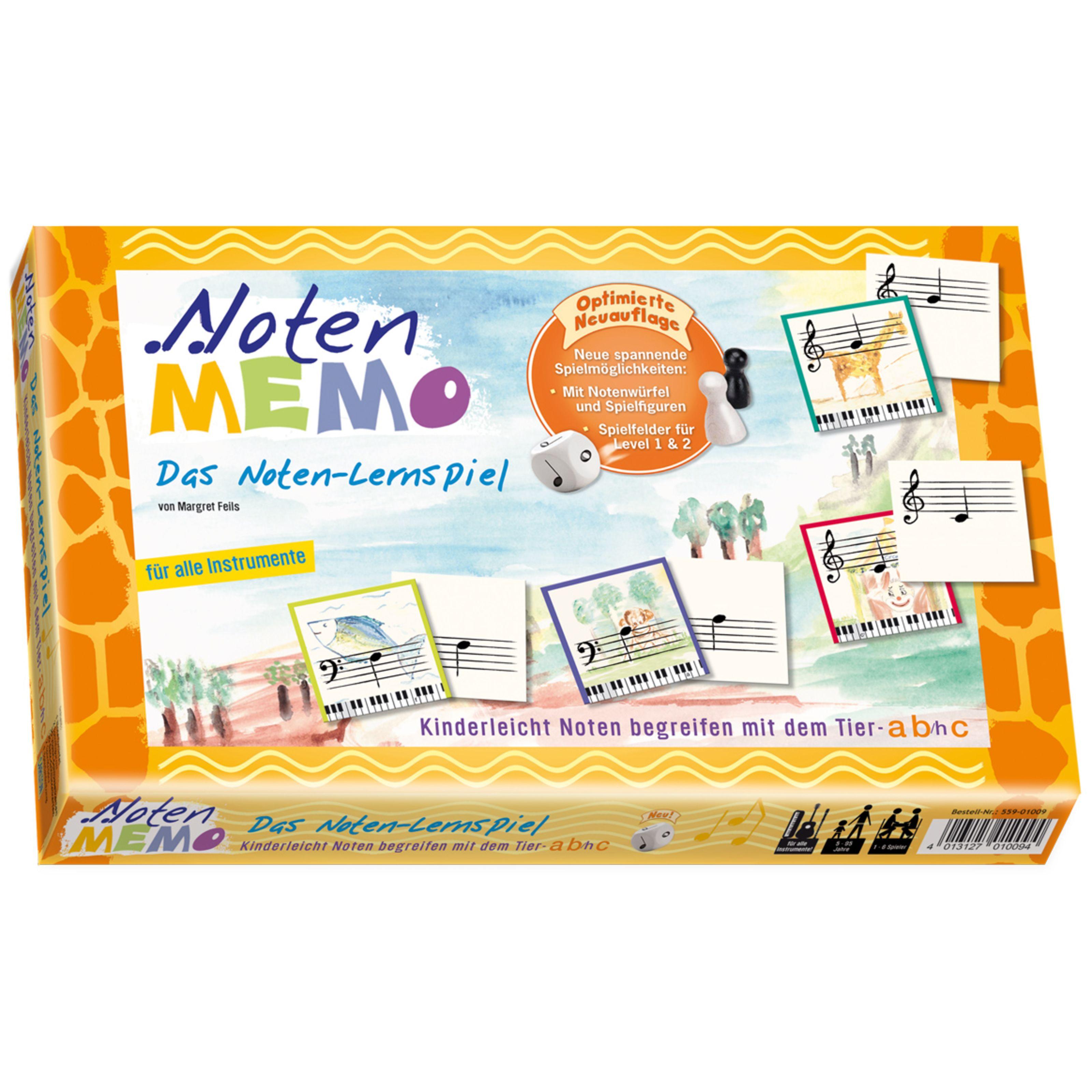 Carlton Musikvertrieb - Noten-Memo - Das Noten-Lernspiel 559-01009