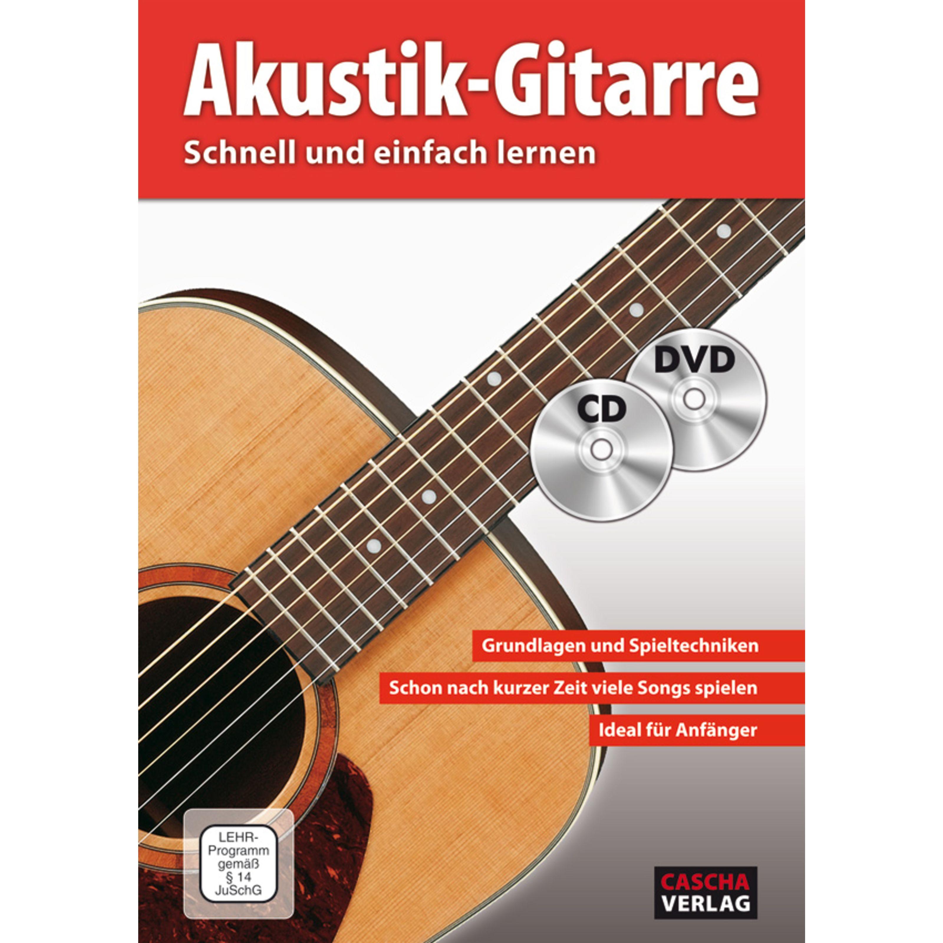 Cascha Verlag - Akustik-Gitarre schnell und einfach lernen