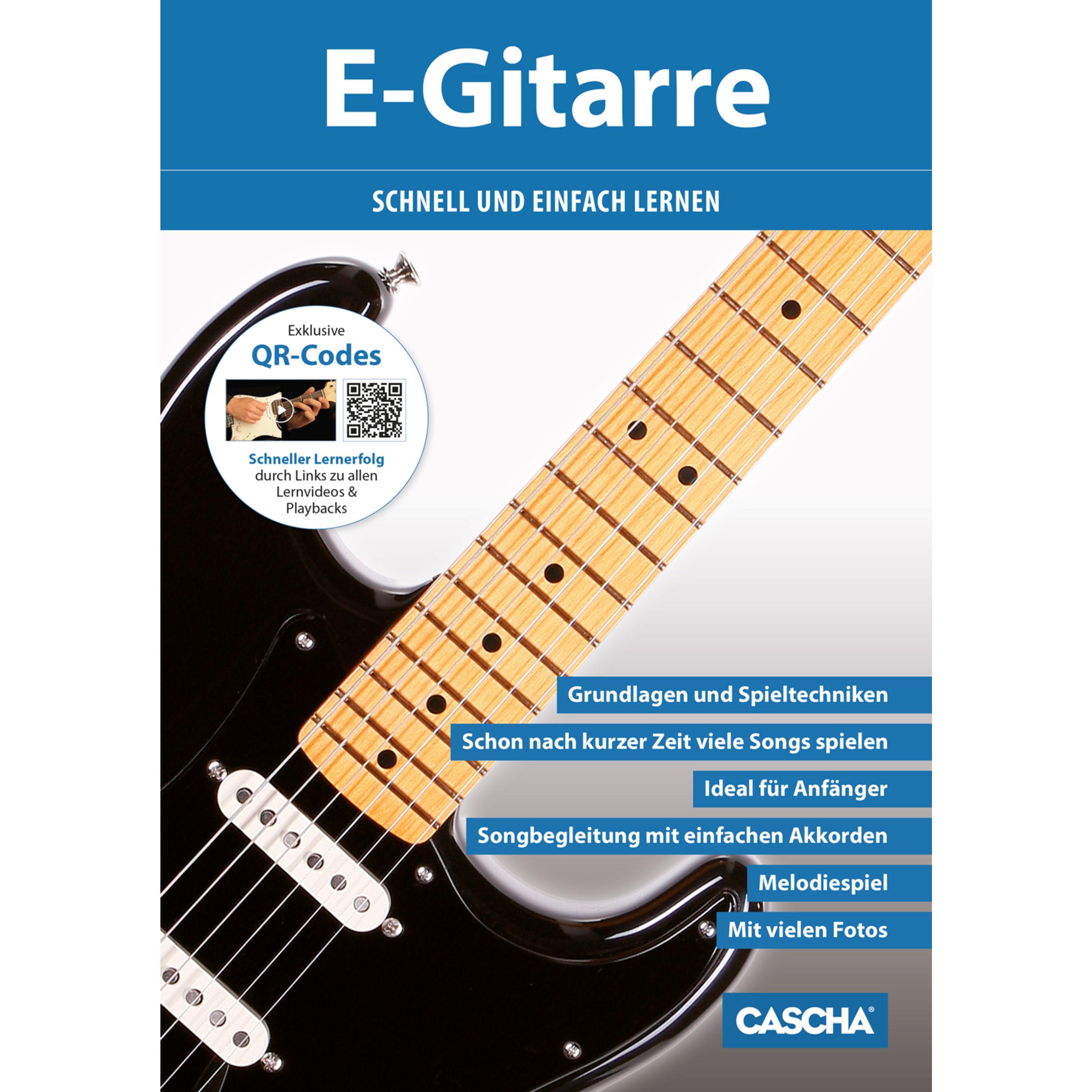 Cascha Verlag - E-Gitarre schnell und einfach lernen HH 1201