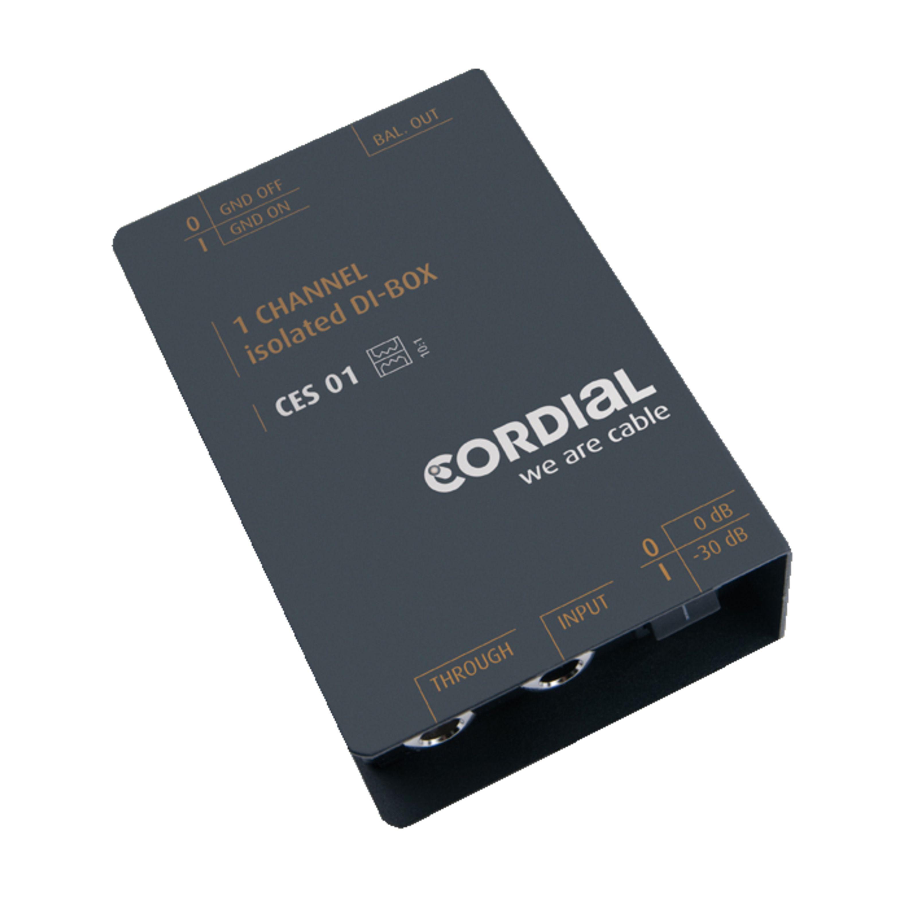 Cordial - CES 01 Einfache DI-Box passiv